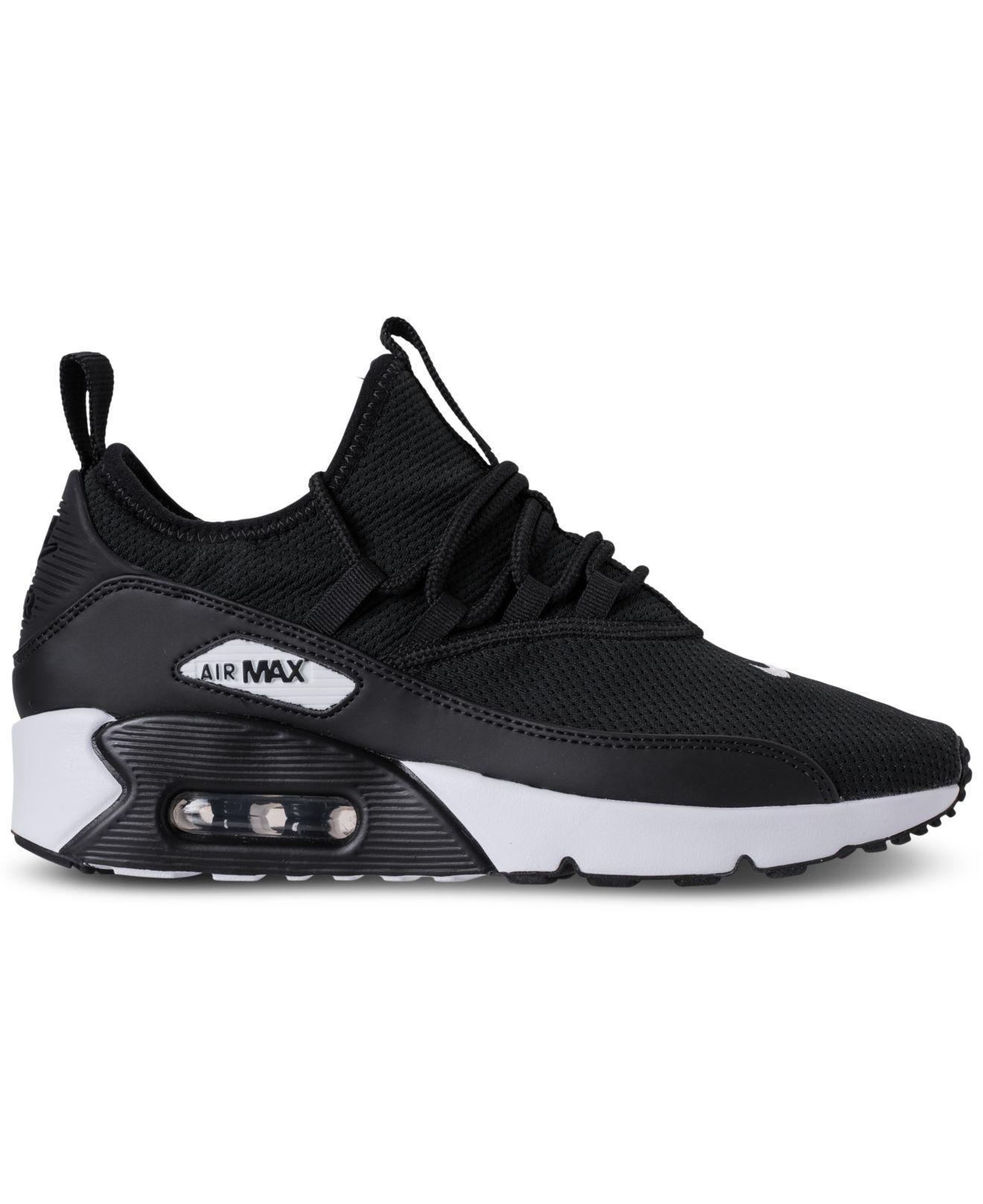 Nike Black Air Max 90 Ultra 2.0 Ease Casual Sneakers From Finish Line