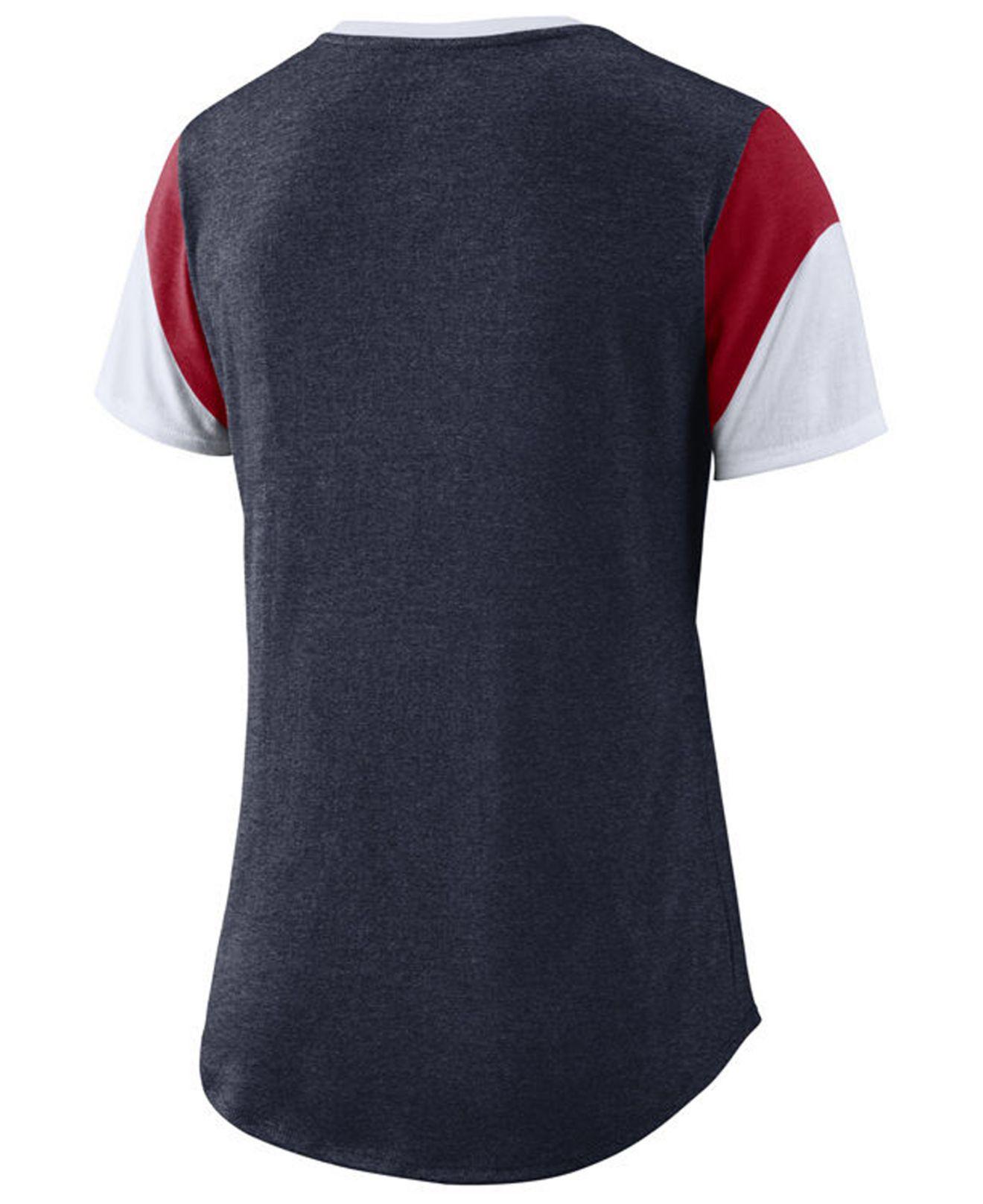 ef630544fba9d Boston Red Sox Womens Dri Fit Cotton T Shirt By Nike – EDGE ...