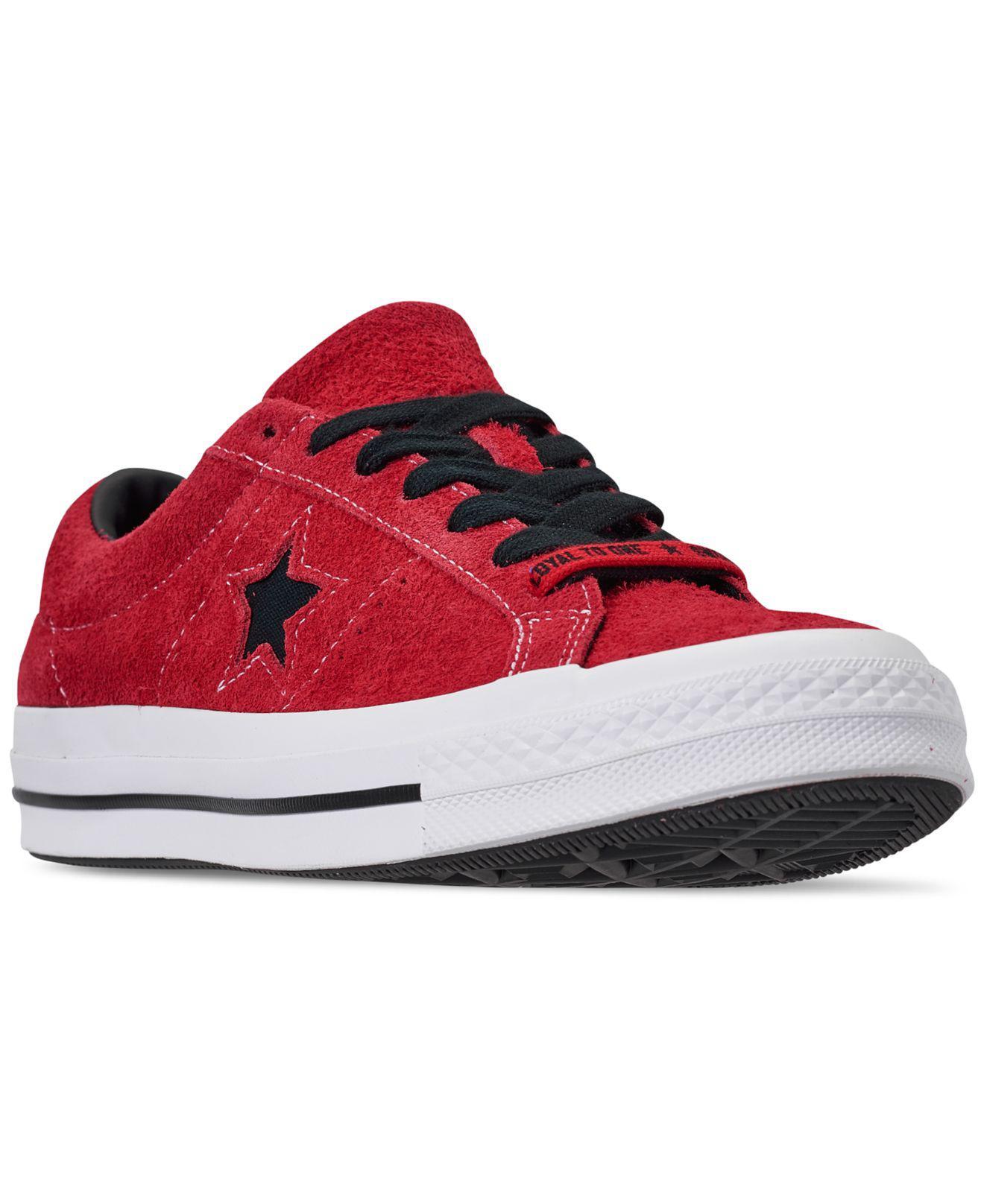 Red For Converse Star Ox One White In Men Enamel Black Lyst tQhorsxBdC