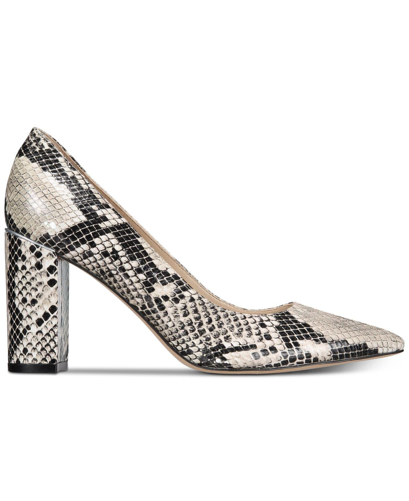 c708cf44e3f Lyst - Marc Fisher Viviene Block-heel Pumps