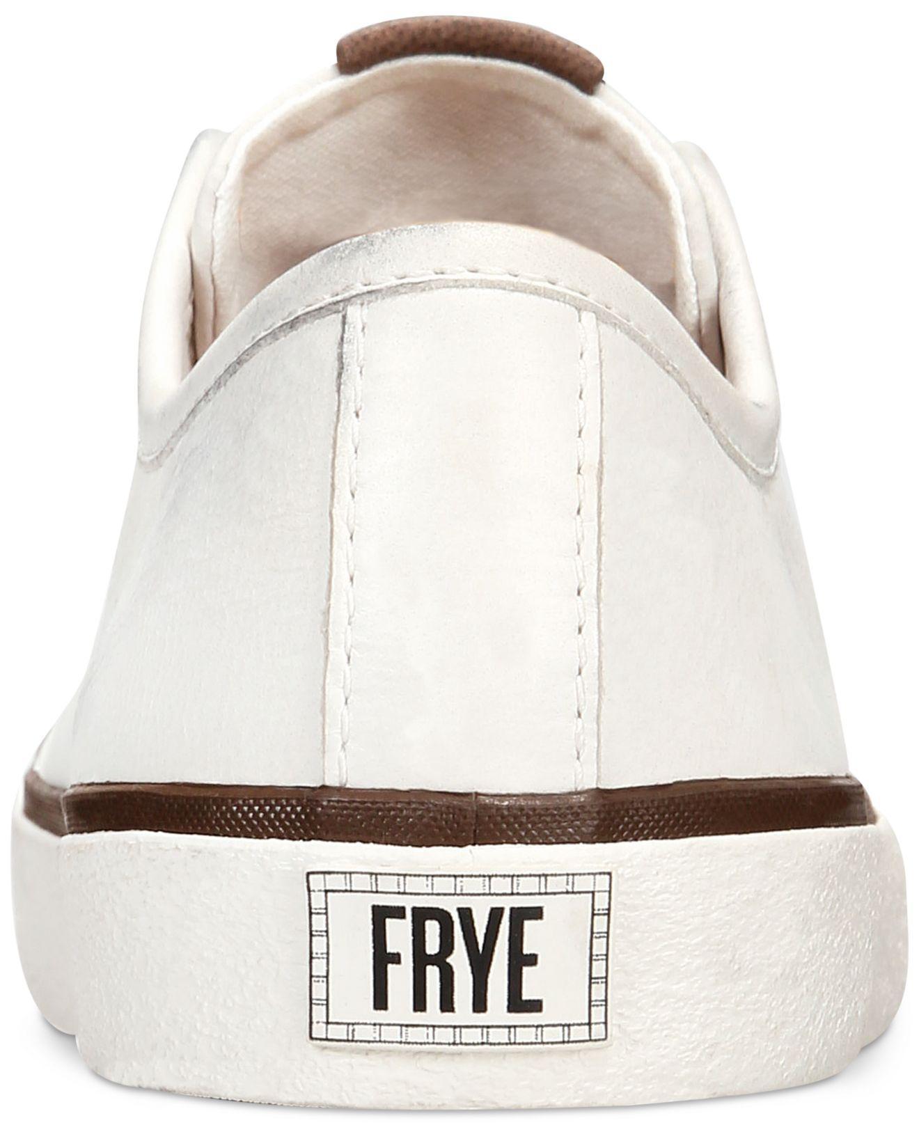Frye Leather Claudia Slip-on Sneakers