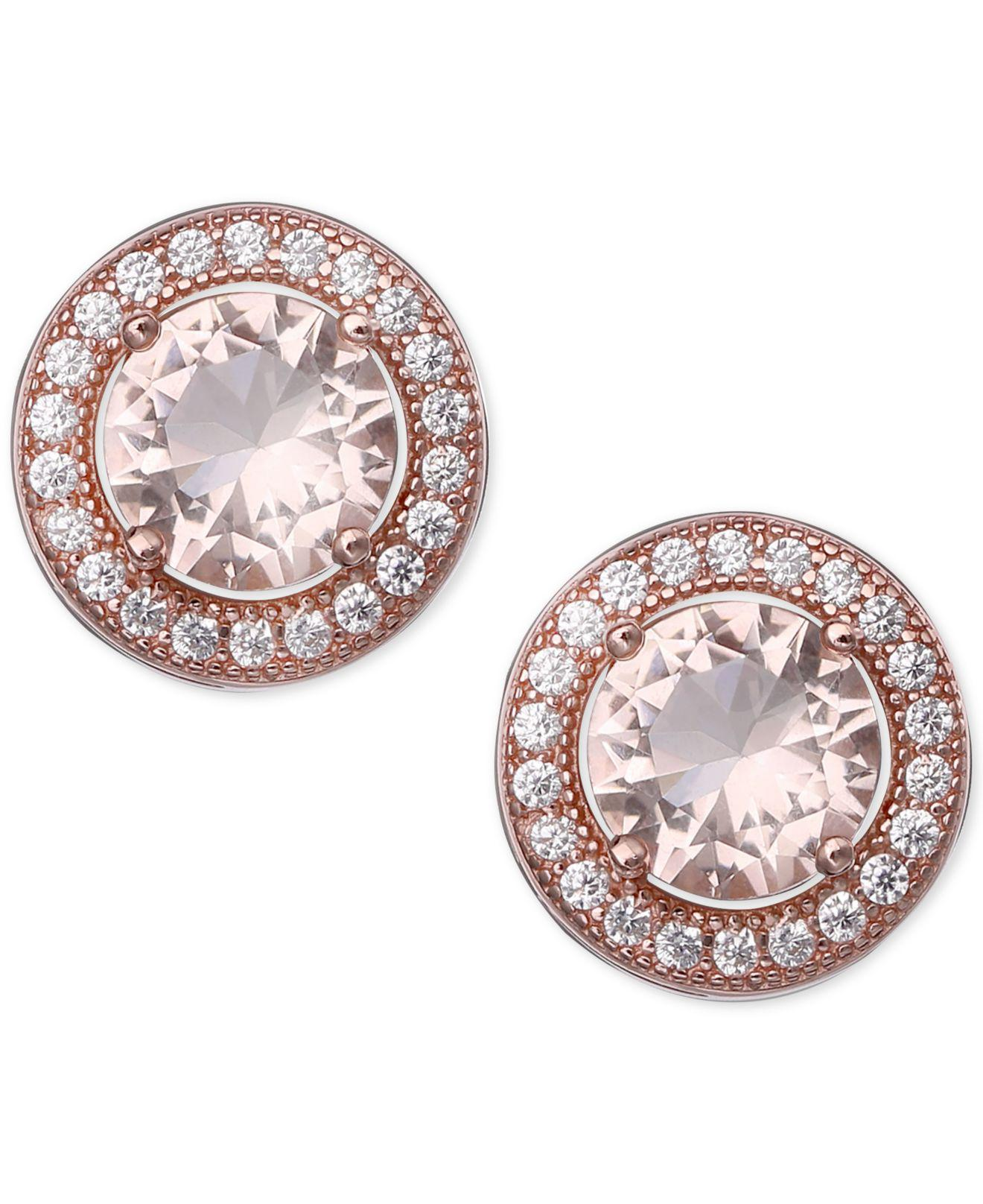 stud bonas gold zirconia oliver jewellery pack of cubic earrings mismatched penrose four