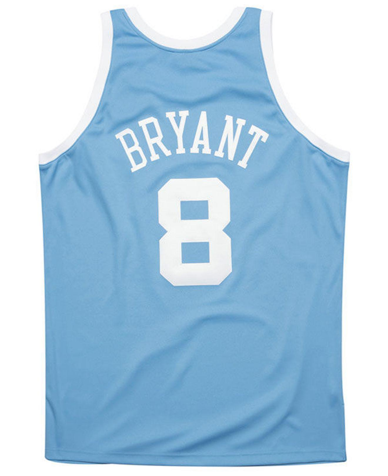 Lyst - Mitchell   Ness Kobe Bryant Los Angeles Lakers Authentic Jersey in  Blue for Men 1f4d93a4e