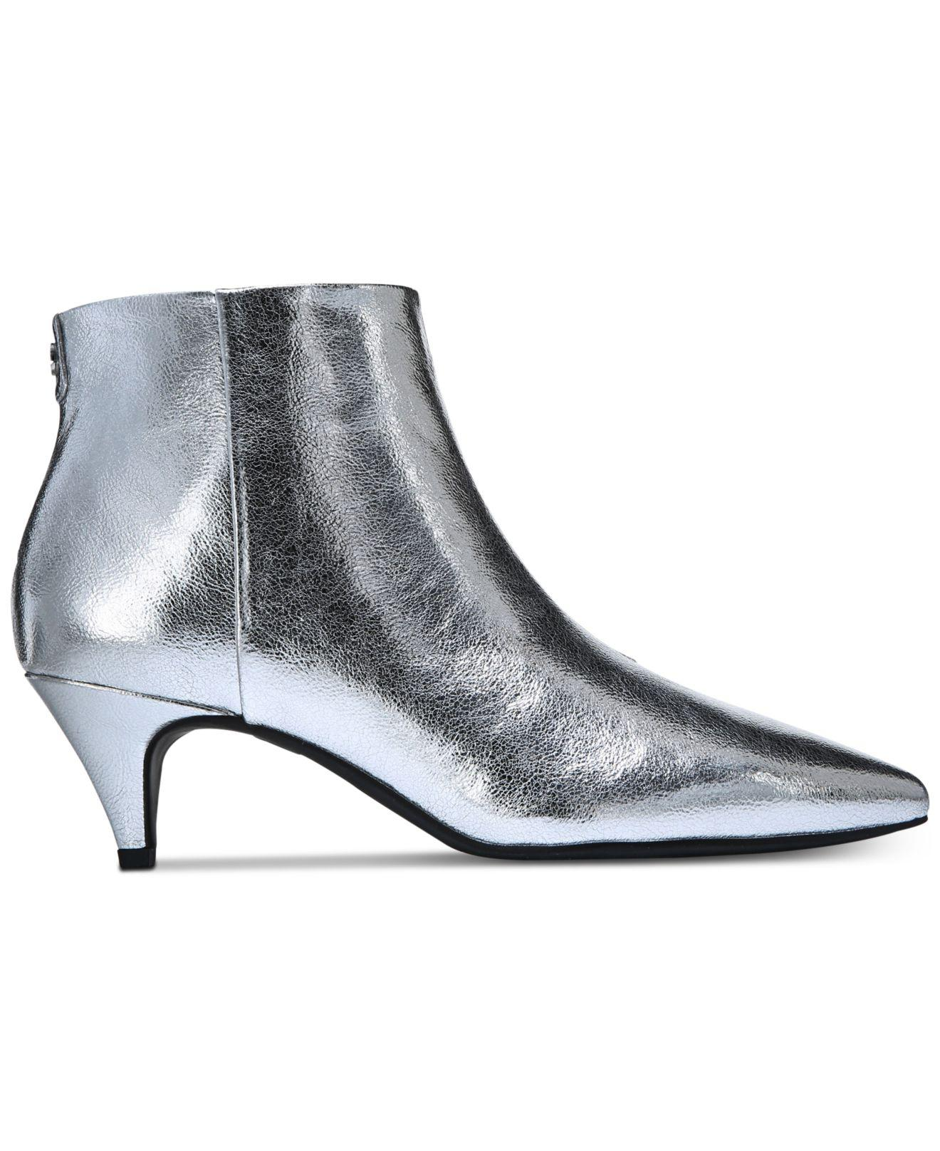 7e4b2c5a78 Circus by Sam Edelman Kirby Booties, Created For Macy's in Metallic ...