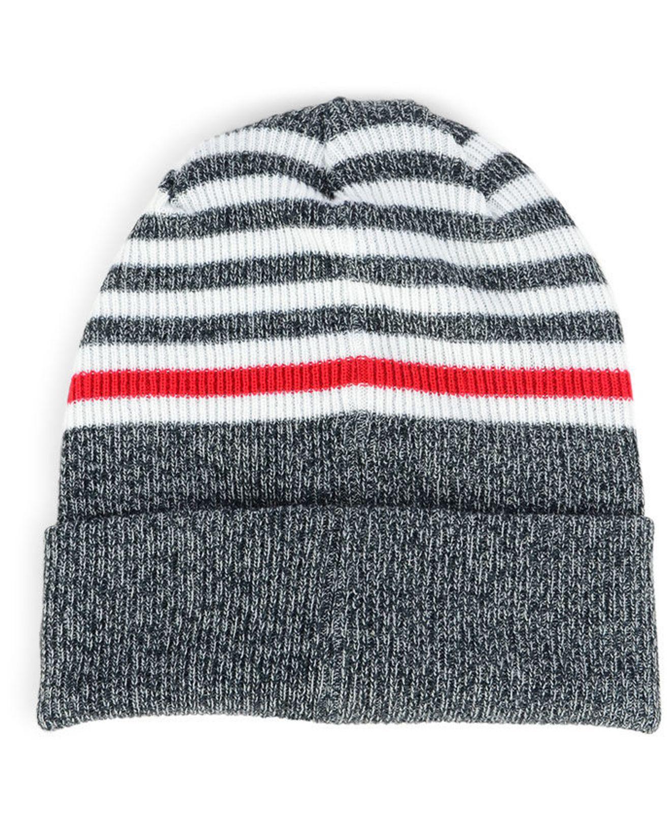 ad9ad170d reduced minnesota twins new era zubaz reversible knit beanie. item image  824c5 652d3; cheapest lyst ktz minnesota twins striped cuff knit hat in  blue for ...