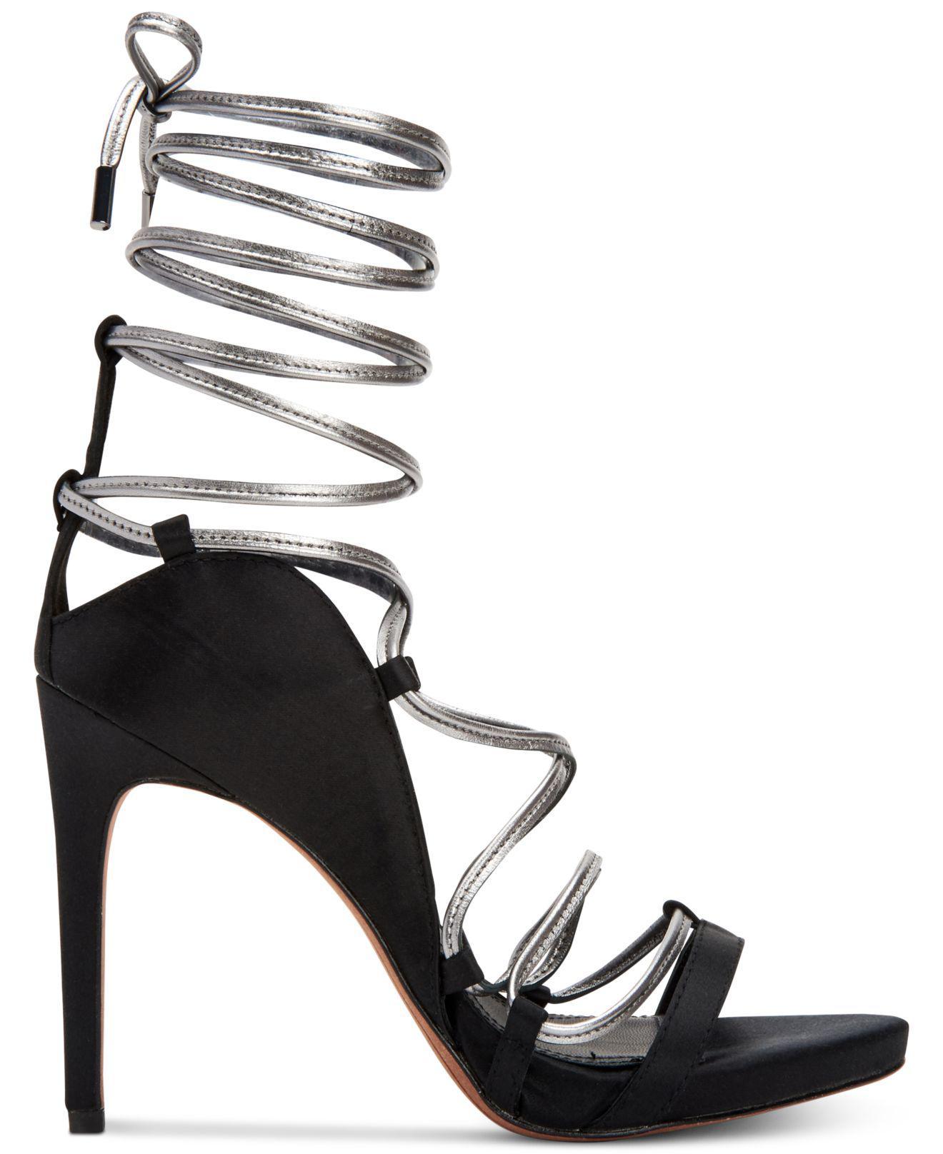 17bd320a85521c Lyst - BCBGMAXAZRIA Esme Strappy Dress Sandals in Black