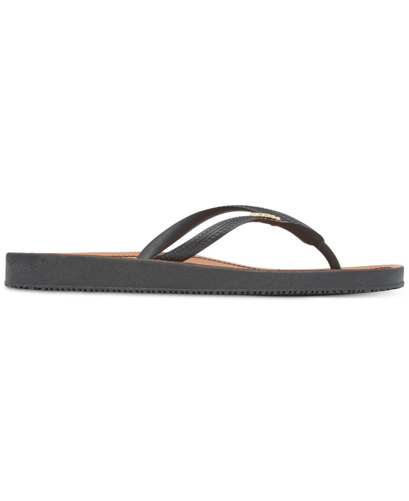 6ab1114d1b8 Lyst - DKNY Madi Flip-flops in Black