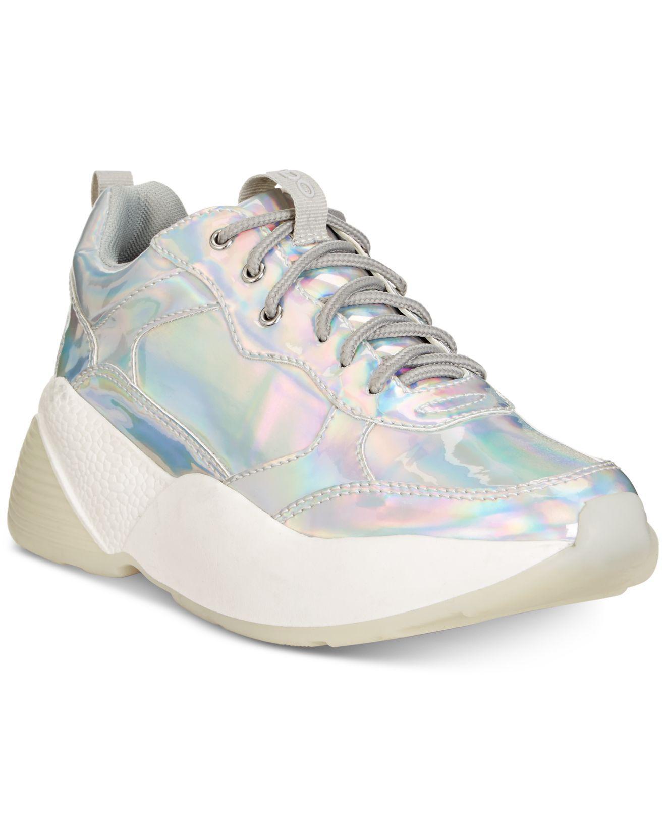 fea75dabf11 Lyst - ALDO Astaondra Chunky Sneakers in Metallic