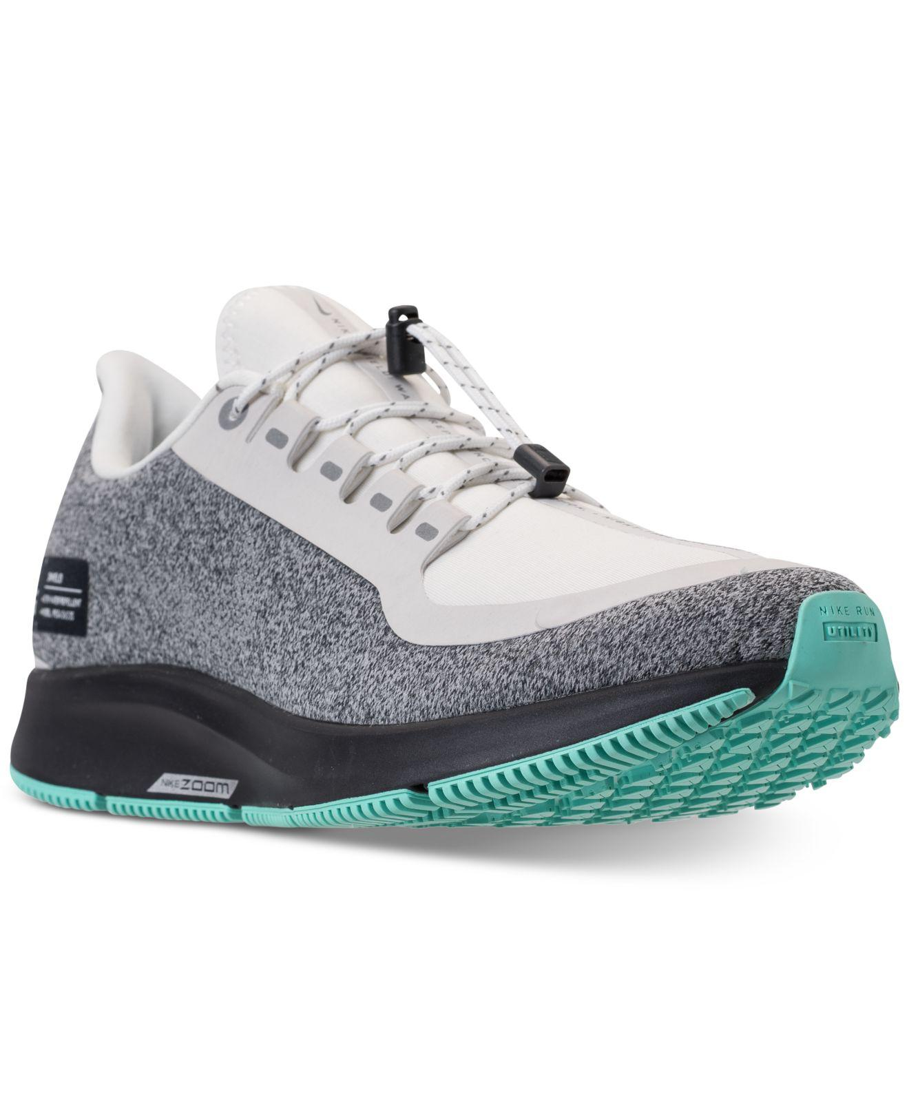 8fb11c576a37 Lyst - Nike Air Zoom Pegasus 35 Shield Running Sneakers From Finish Line