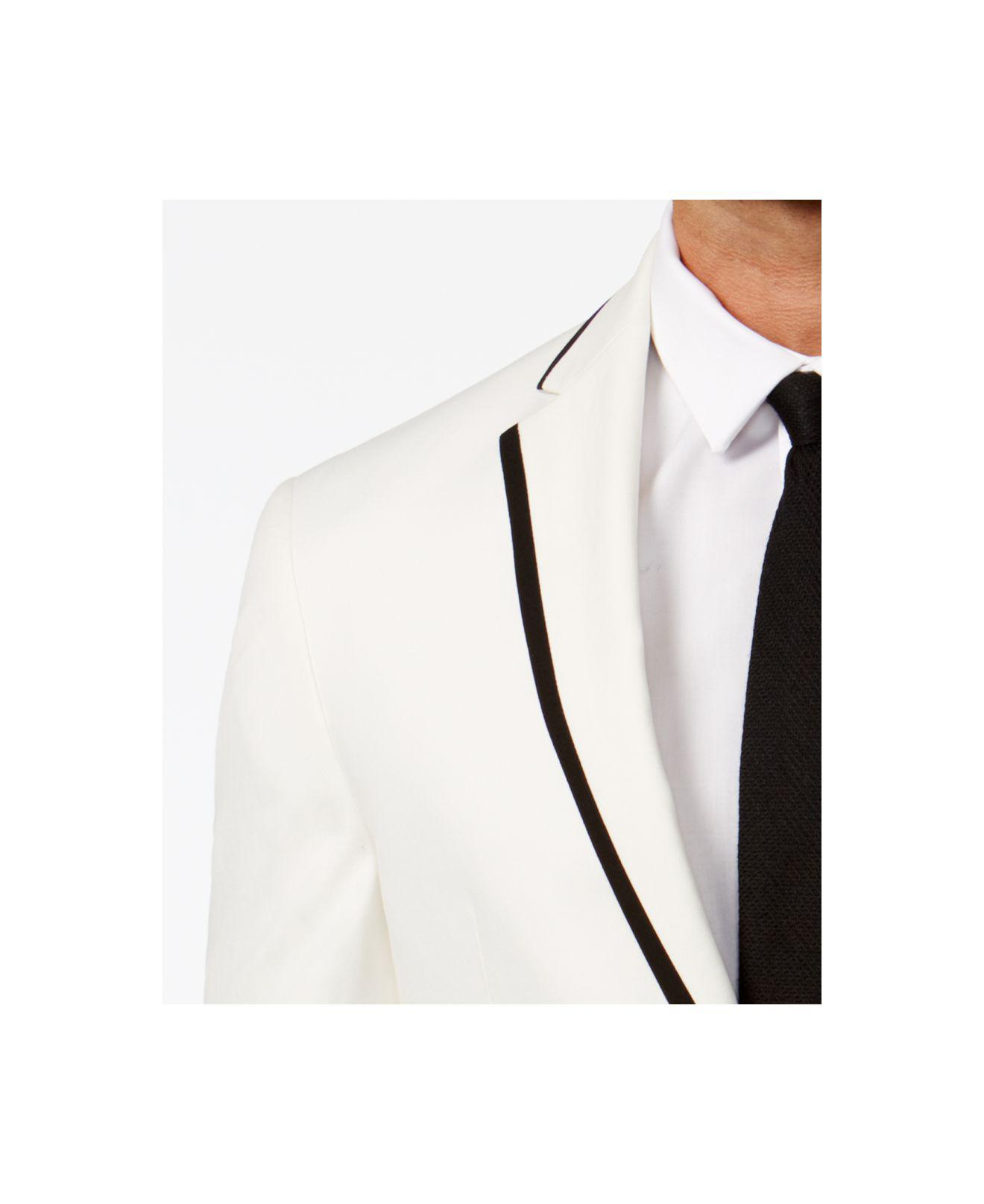 bdd7d3d6b445d Lyst - Kenneth Cole Reaction Slim Fit Evening Blazer in White for Men -  Save 49%