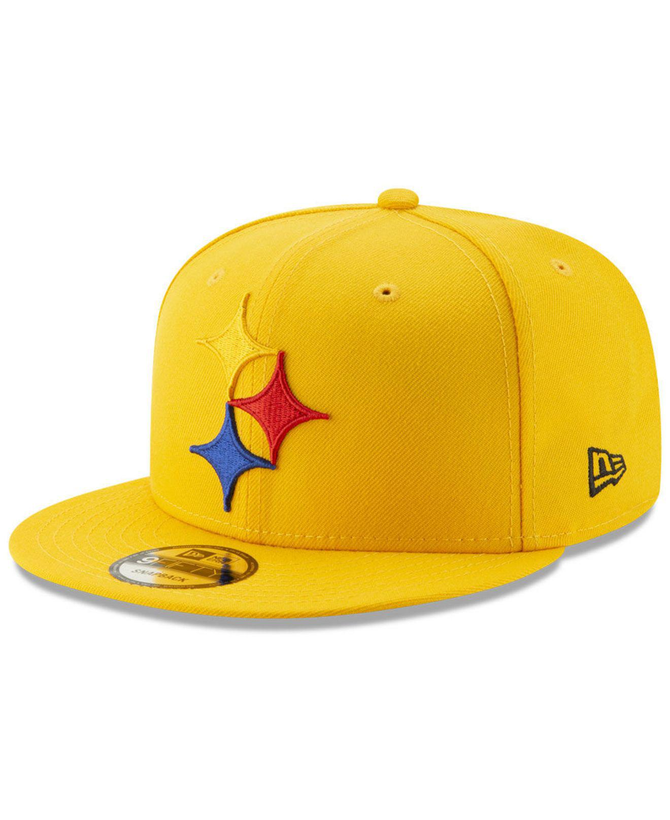0ed434505164a KTZ Pittsburgh Steelers Logo Elements Collection 9fifty Snapback Cap ...