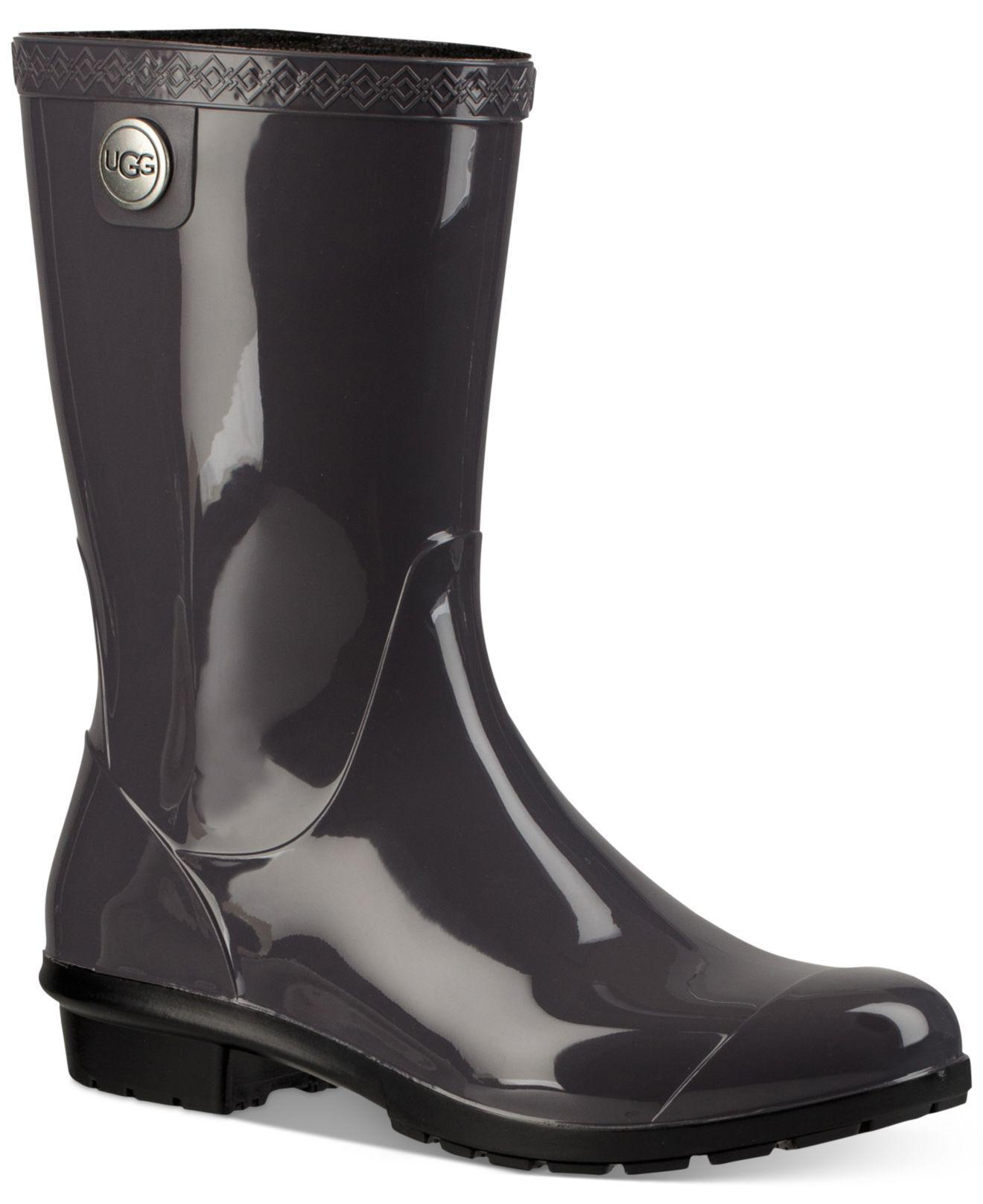 f6a2701dfba Women's Black Sienna Rain Boots