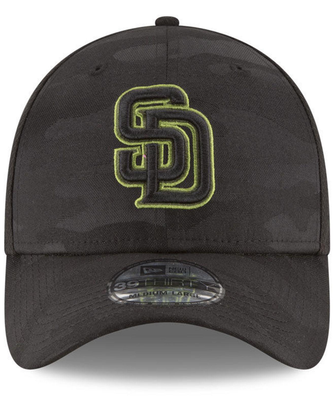 timeless design a5271 a2719 ... cheap lyst ktz san diego padres memorial day 39thirty cap in black for  men 283f9 b1eca