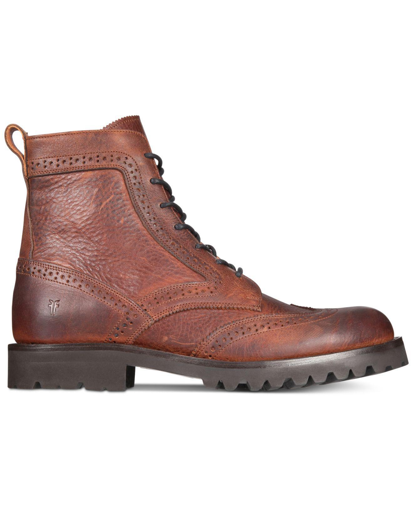 Frye Earl Wingtip Boot V5fOrTv