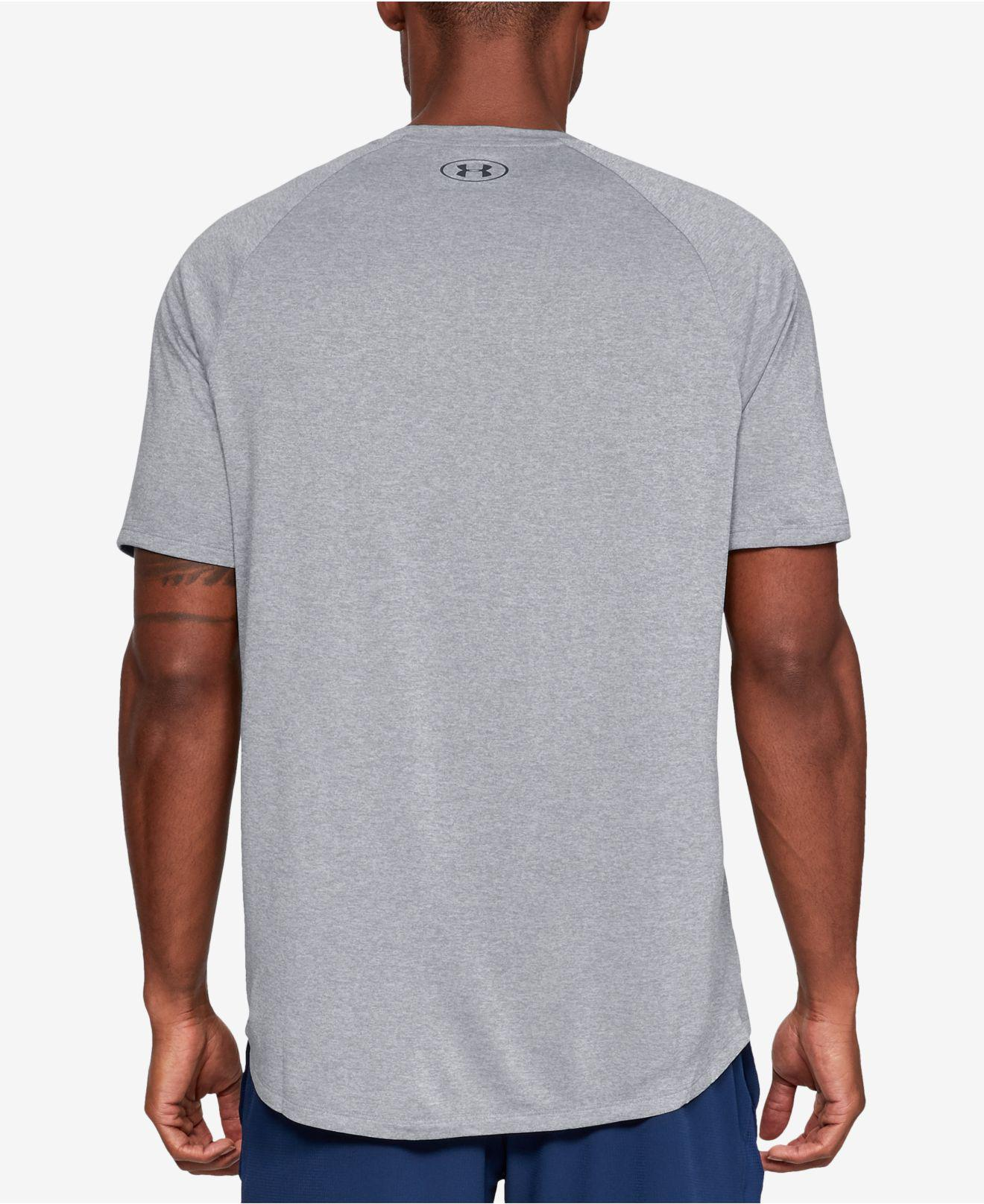 25502ec8 Lyst - Under Armour Tech Short Sleeve Tee in Gray for Men - Save 24%