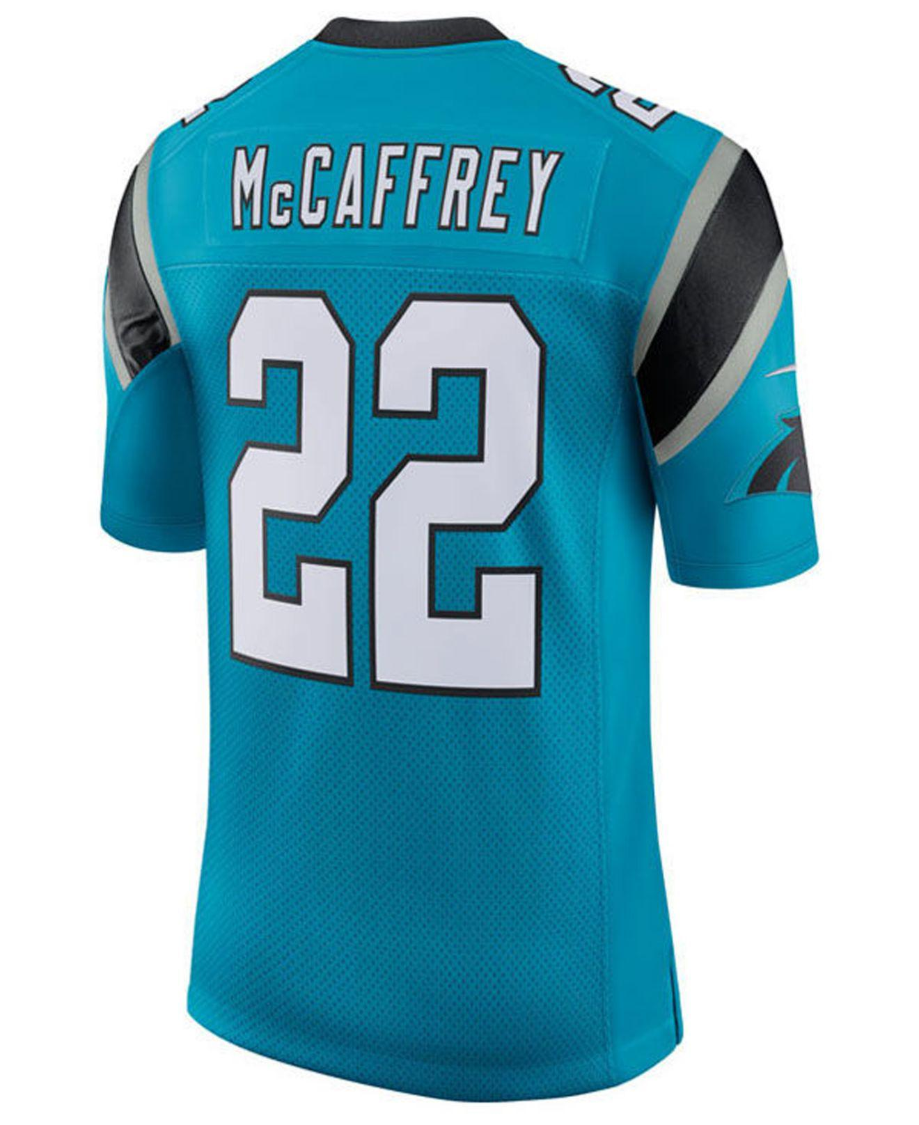 1b99b9068bb Lyst - Nike Christian Mccaffrey Carolina Panthers Limited Jersey in ...