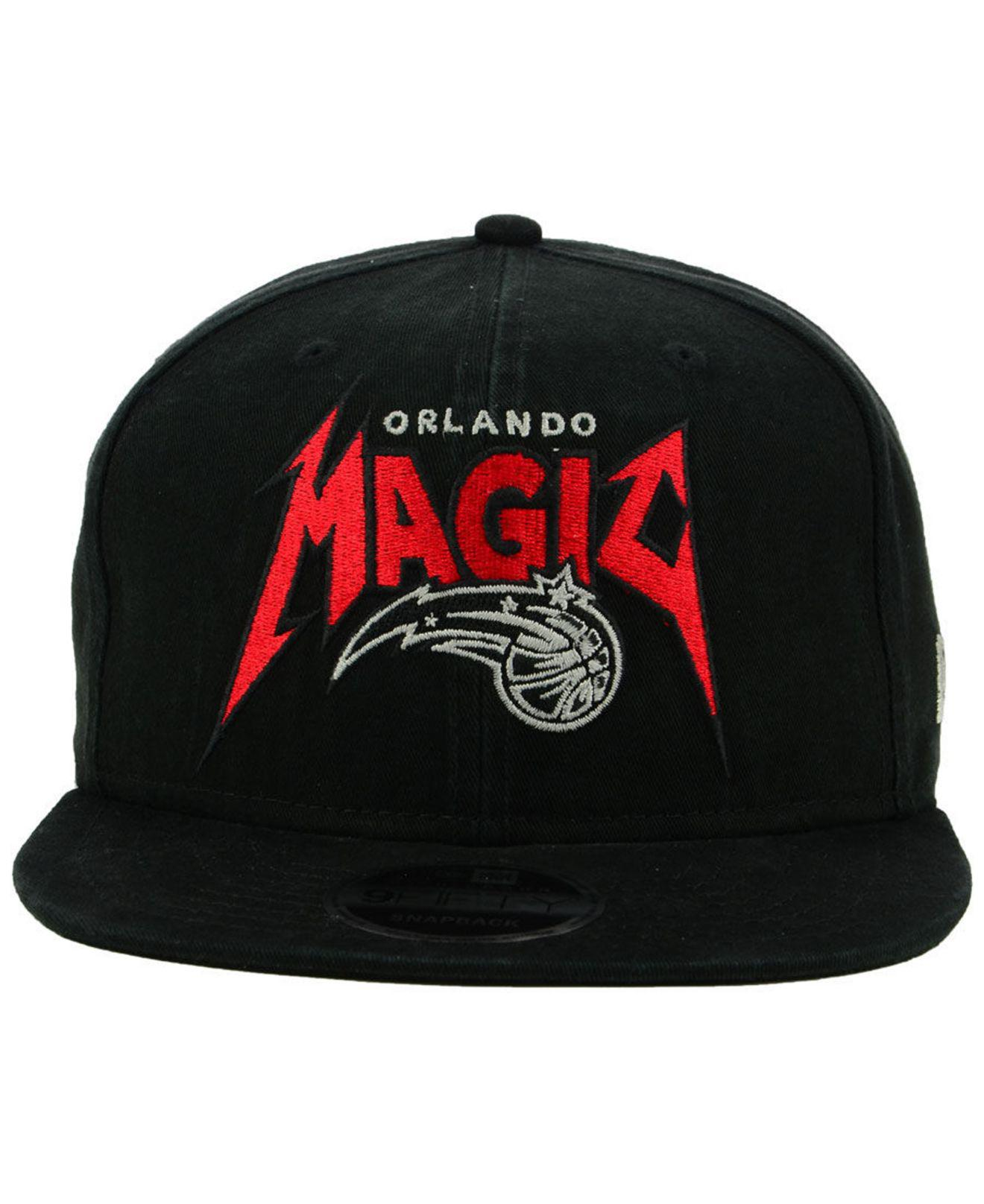big sale 34e4e a8e60 Lyst - KTZ Orlando Magic 90s Throwback Groupie 9fifty Snapback Cap in Black  for Men