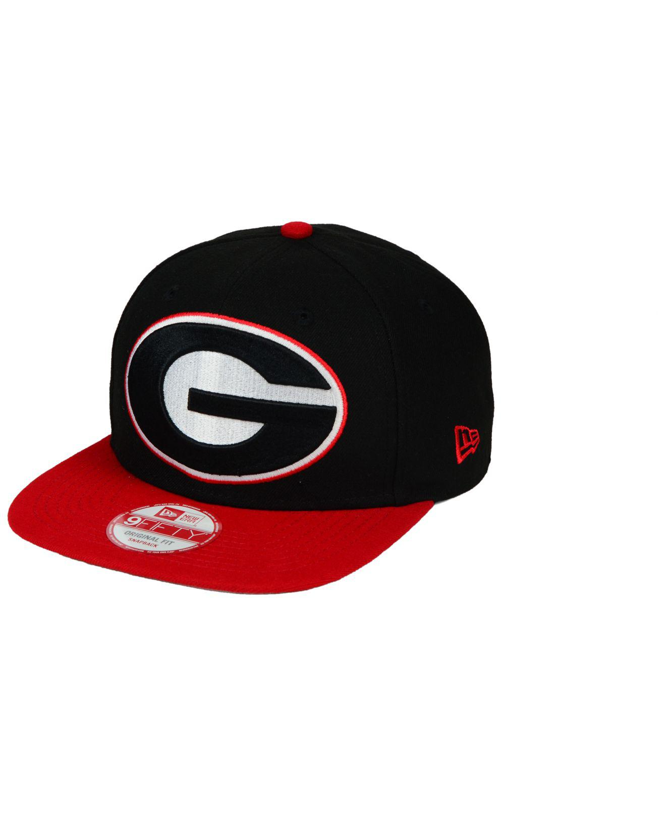 new collection free shipping great fit KTZ Synthetic Georgia Bulldogs Logo Grand Redux 9fifty Snapback ...