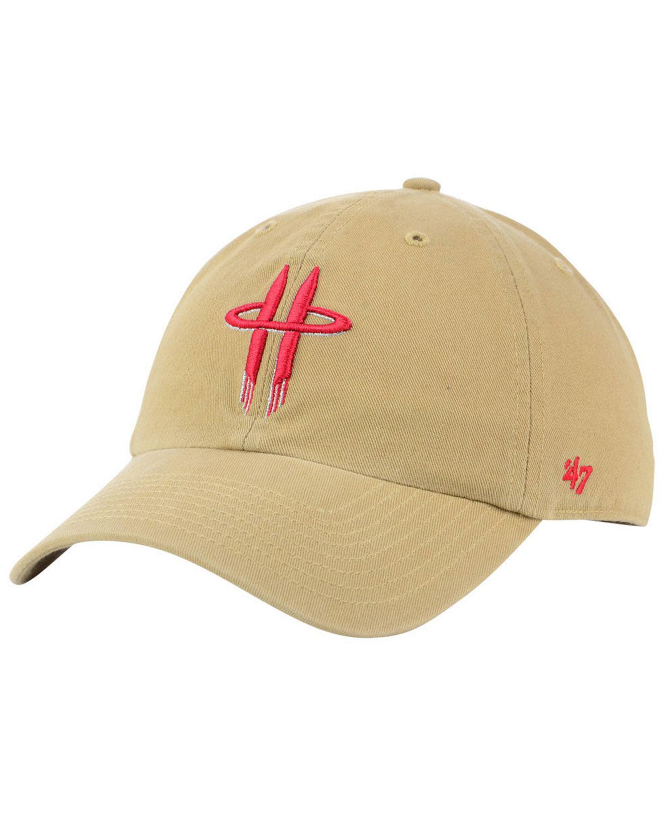 hot sale online 856cc df5c1 ... canada lyst 47 brand houston rockets mash up clean up cap for men e1ec1  d6079