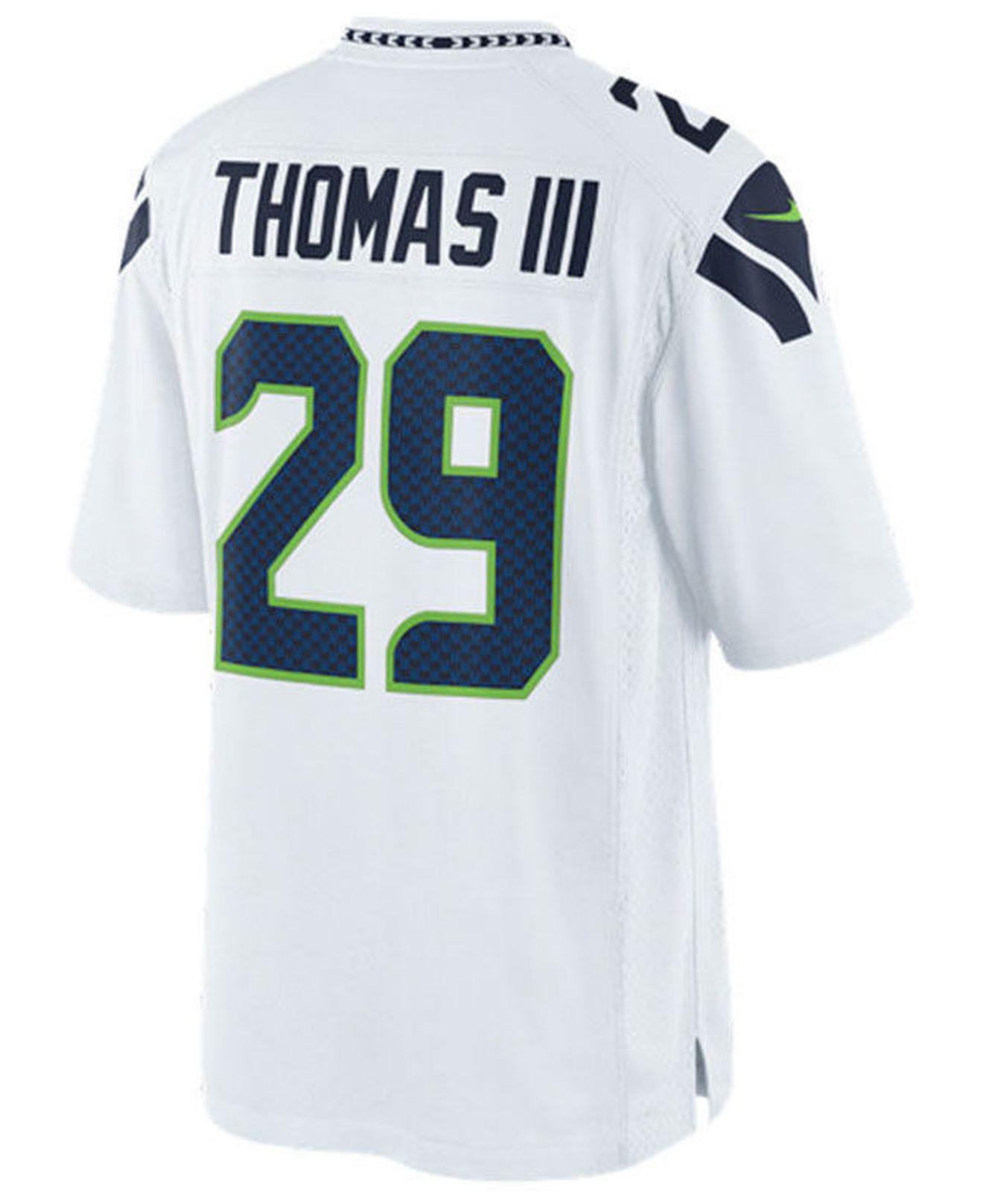 Lyst - Nike Earl Thomas Iii Seattle Seahawks Limited Jersey in White ... 4586431fa