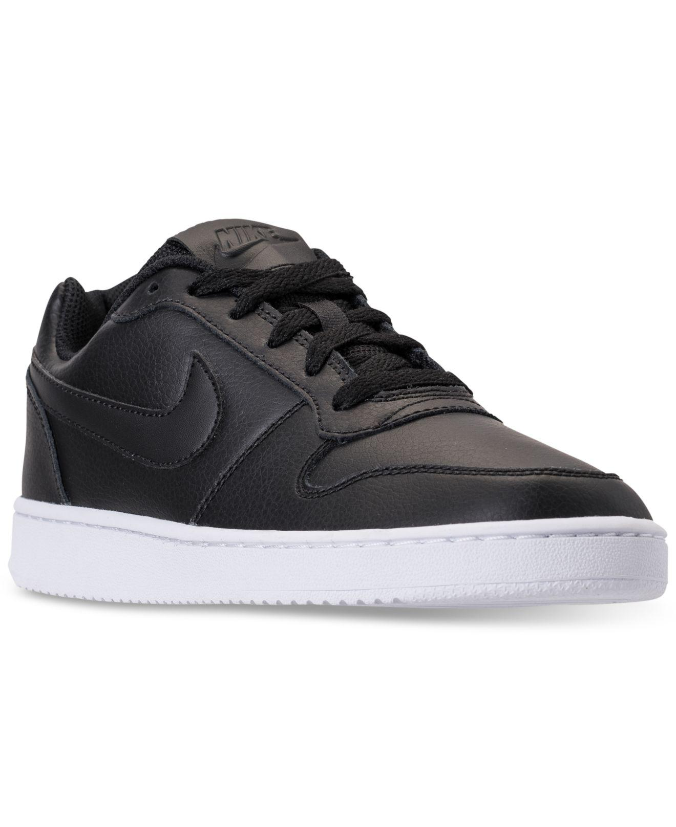 138dd524e8f Lyst - Nike Ebernon Low Casual Sneakers From Finish Line in Black