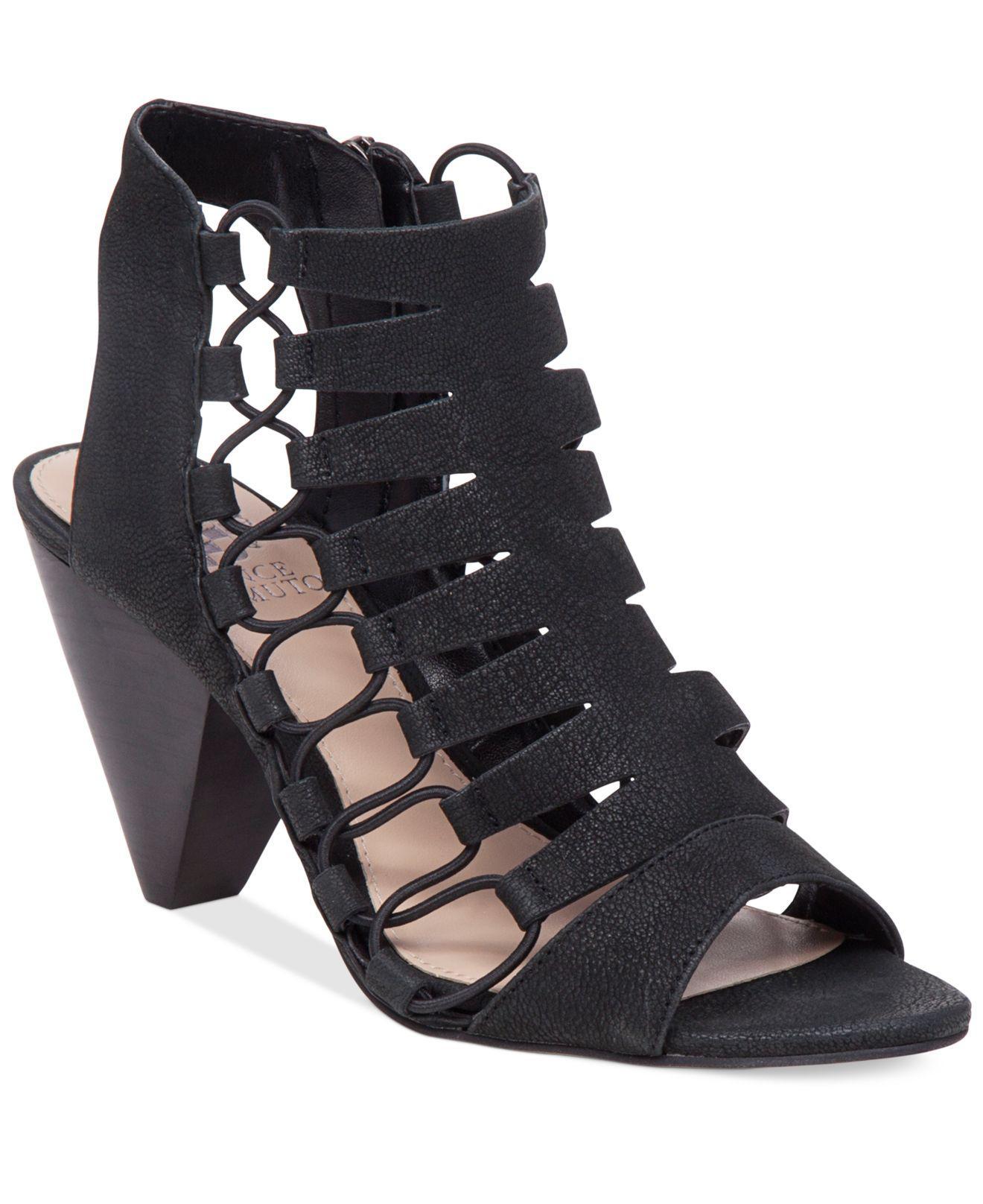 Vince Camuto Leather Eliaz Gladiator Dress Sandals In