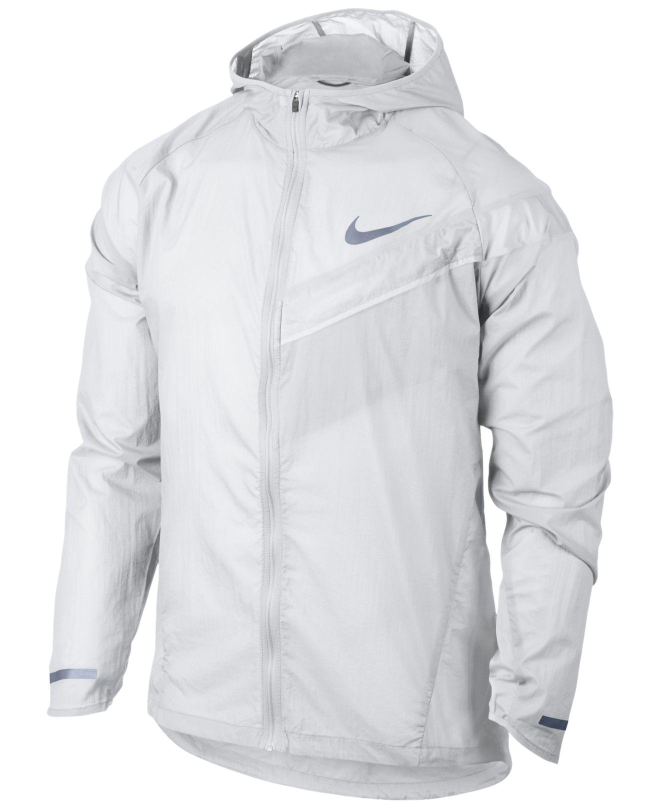 be9c3469a4ad Lyst - Nike Men s Impossibly Light Running Jacket in White for Men