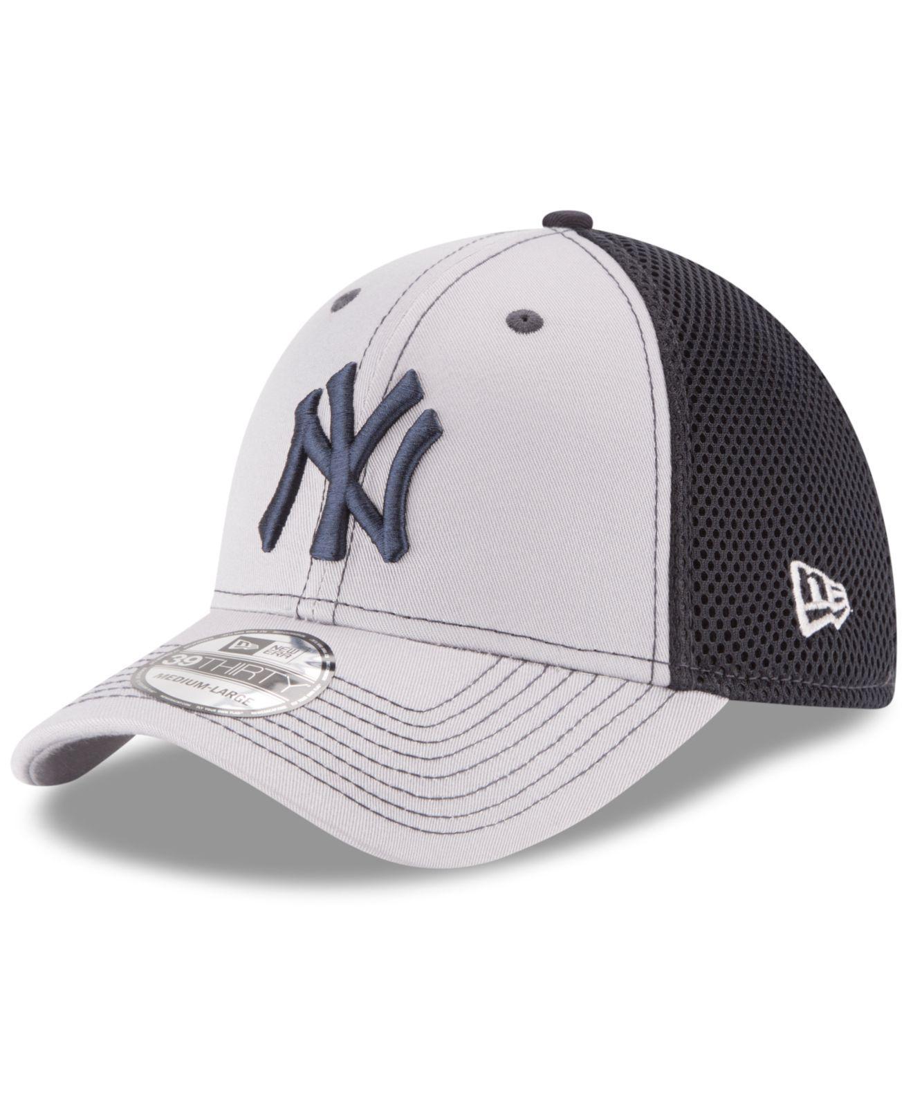 9b1a7141c10148 Lyst - Ktz New York Yankees Team Front Neo 39thirty Cap in Black for Men
