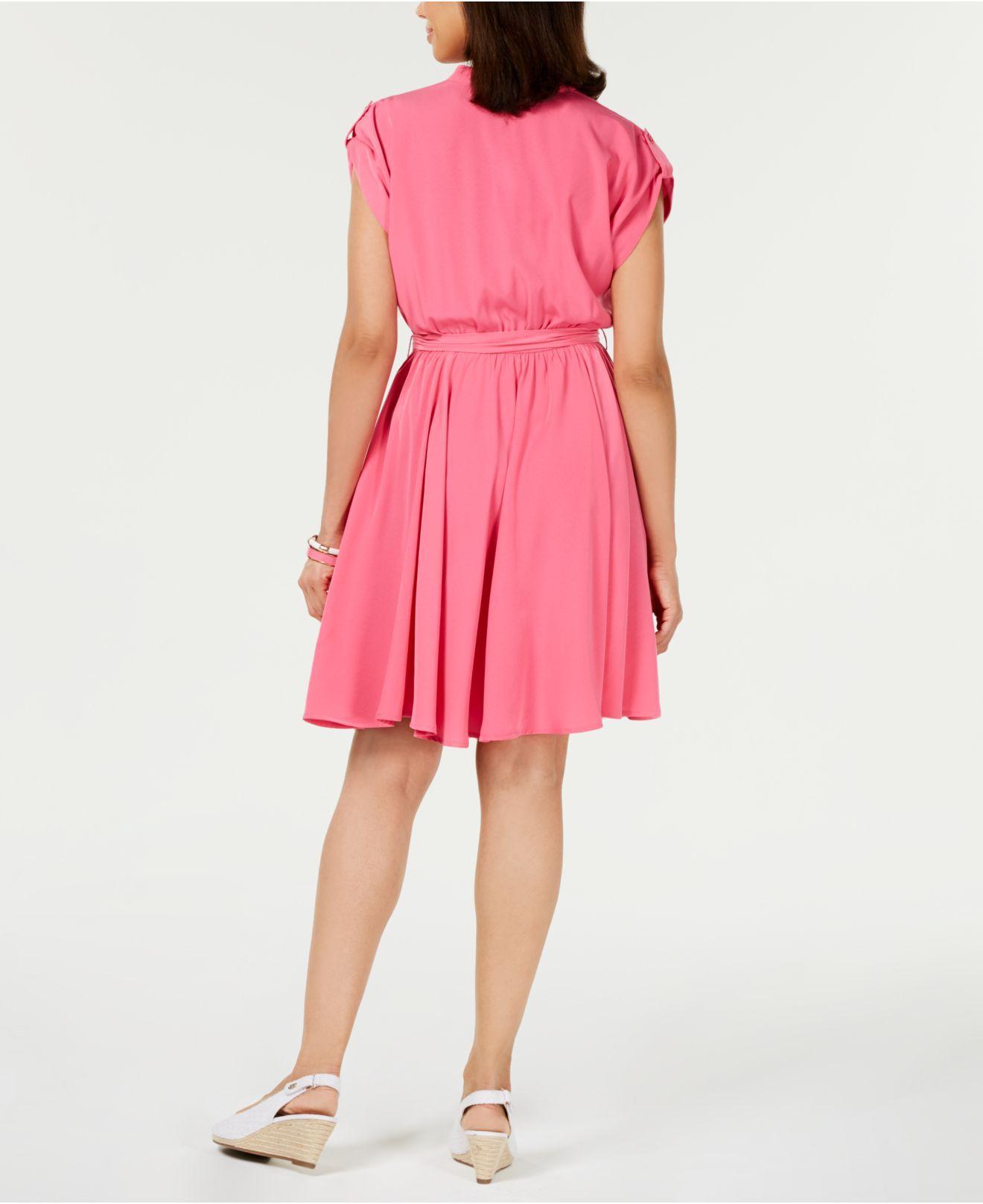 53651f2a6f Lyst - Charter Club Belted Dress