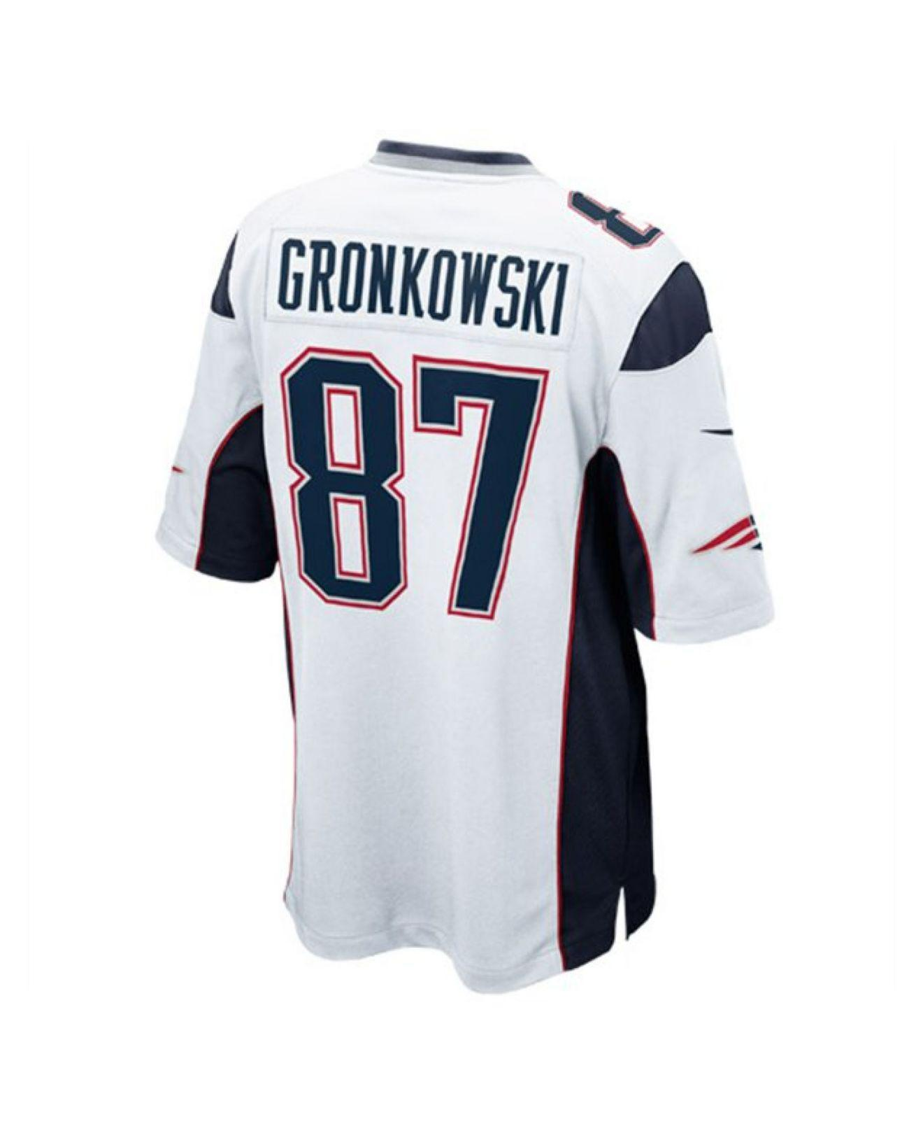 Lyst - Nike Men s Rob Gronkowski New England Patriots Game Jersey in ... 39fbbf25c