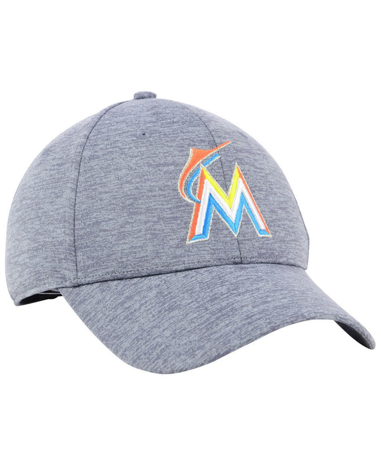 free shipping b955f aadb4 ... discount code for lyst under armour miami marlins twist closer cap in  gray for men 94c27