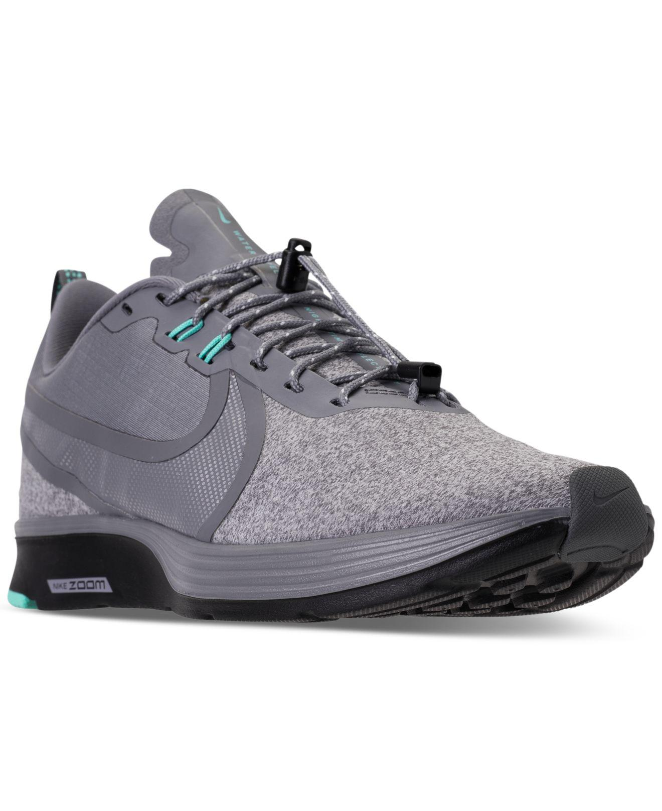 22613bc56465 Lyst - Nike Zoom Strike 2 Shield Running Sneakers From Finish Line