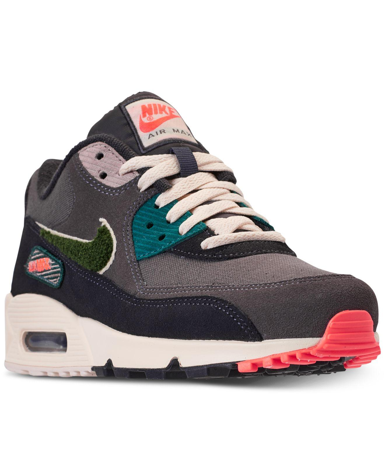 Lyst - Nike Air Max 90 Premium Se Casual Sneakers From Finish Line ... a88061a5e