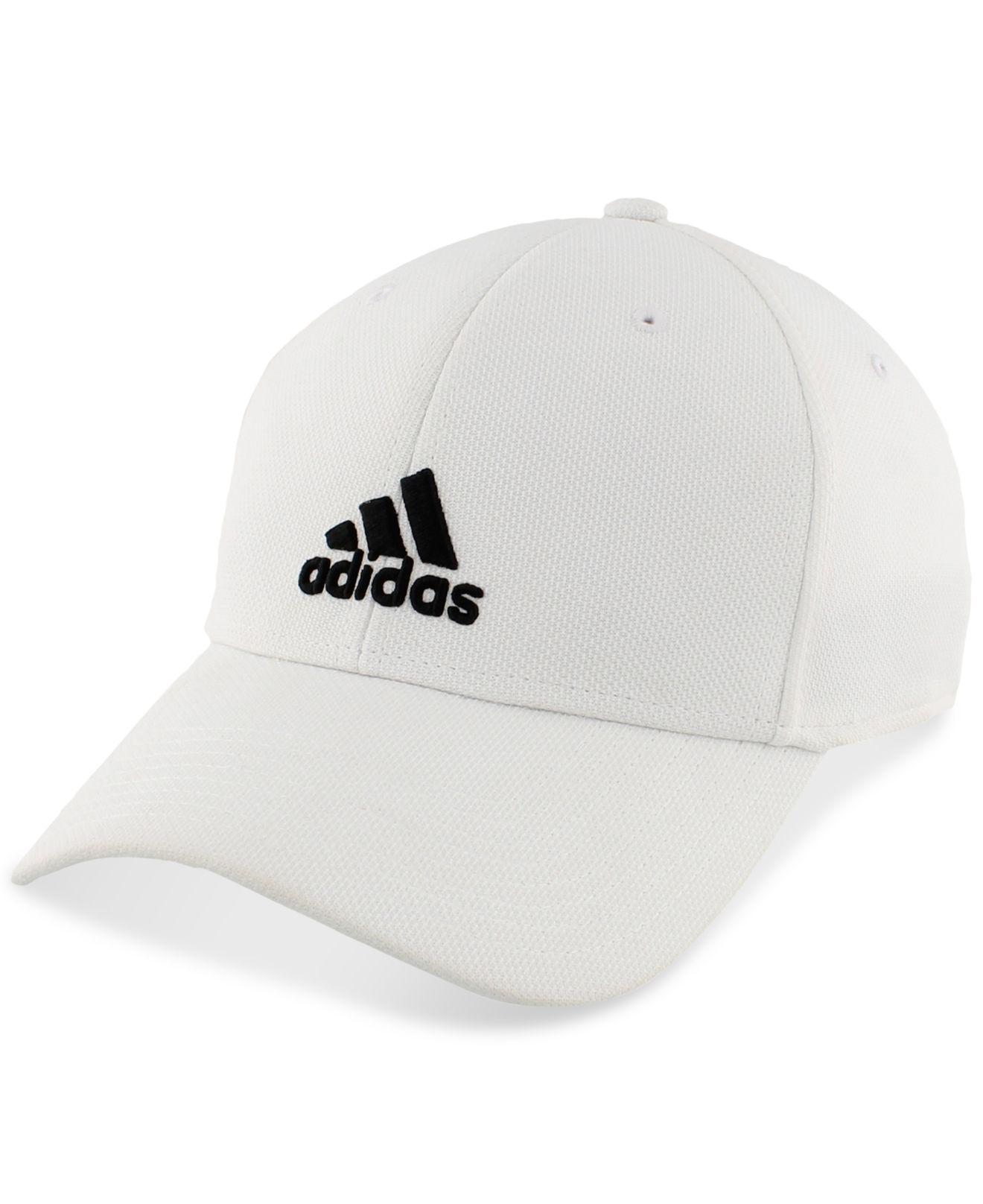Lyst - adidas Climalite® Stretch Rucker Hat in White for Men d90d9292e0c