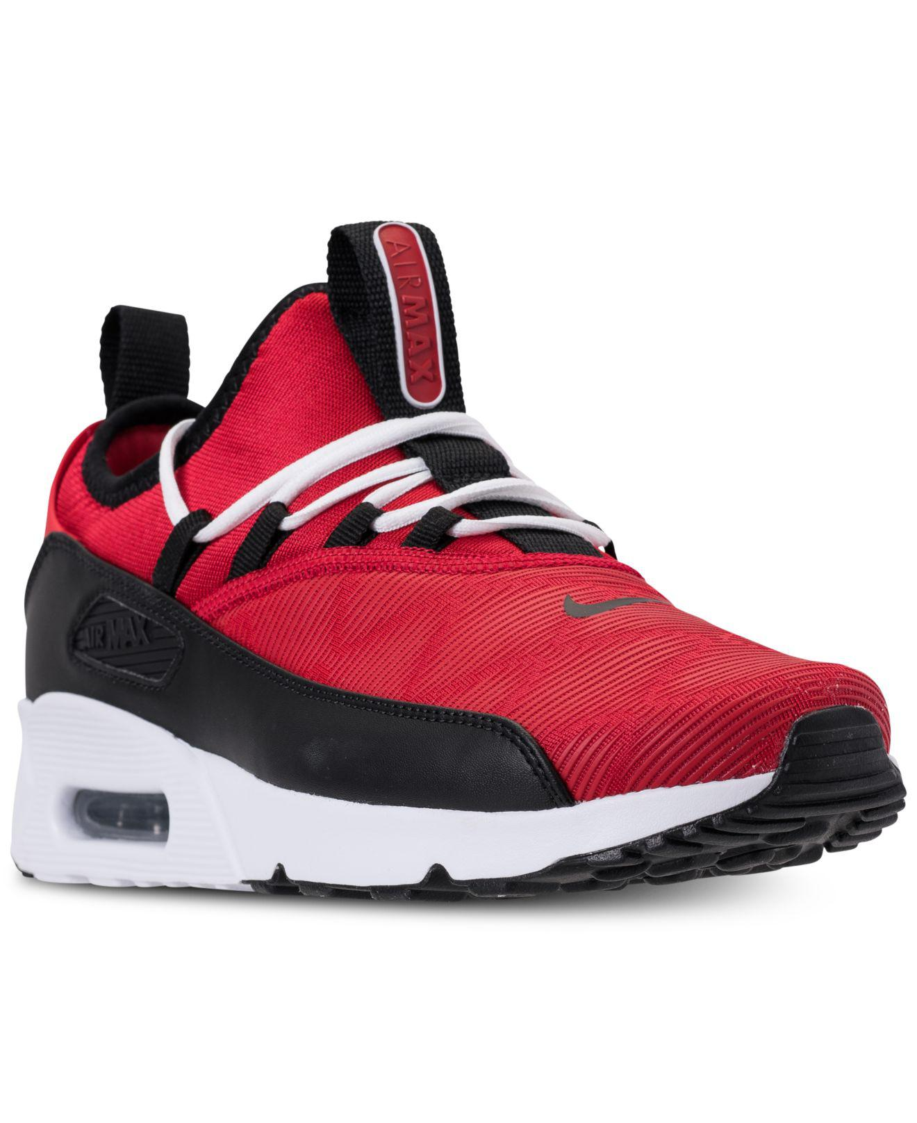 7b88f1895d4d ... sweden lyst nike air max 90 ez se casual sneakers from finish line in  red cc132