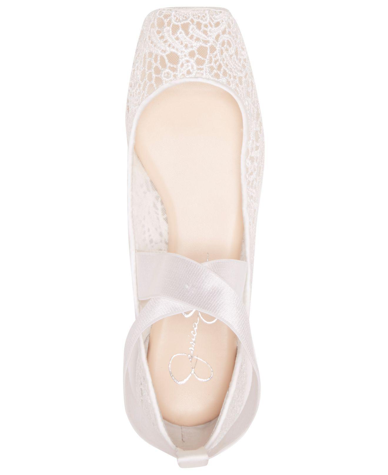Jessica Simpson Lace Maggda Ballet Flat