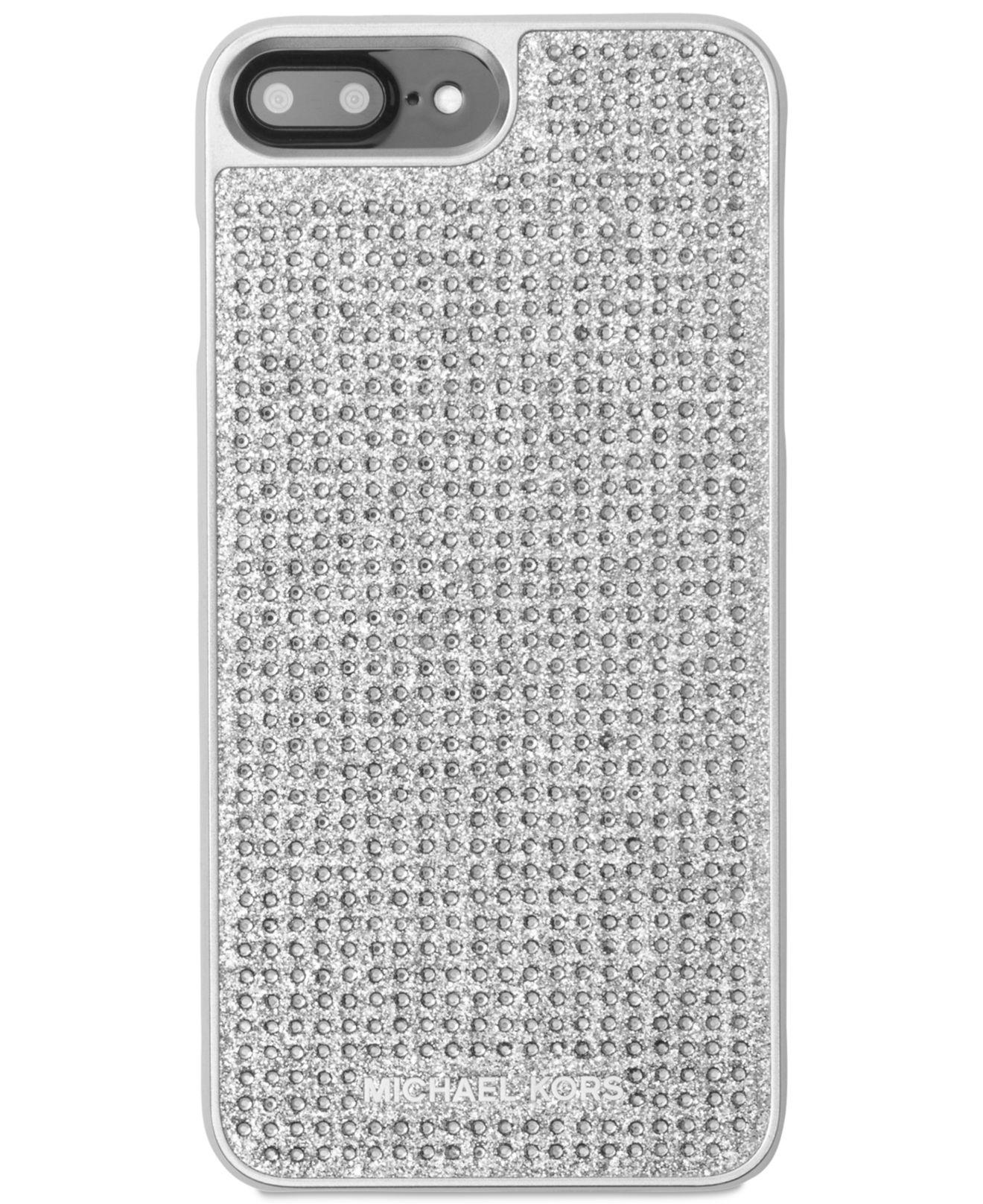 reputable site 2838c 22af5 Michael Kors Metallic Letters Iphone 8 Plus Cover