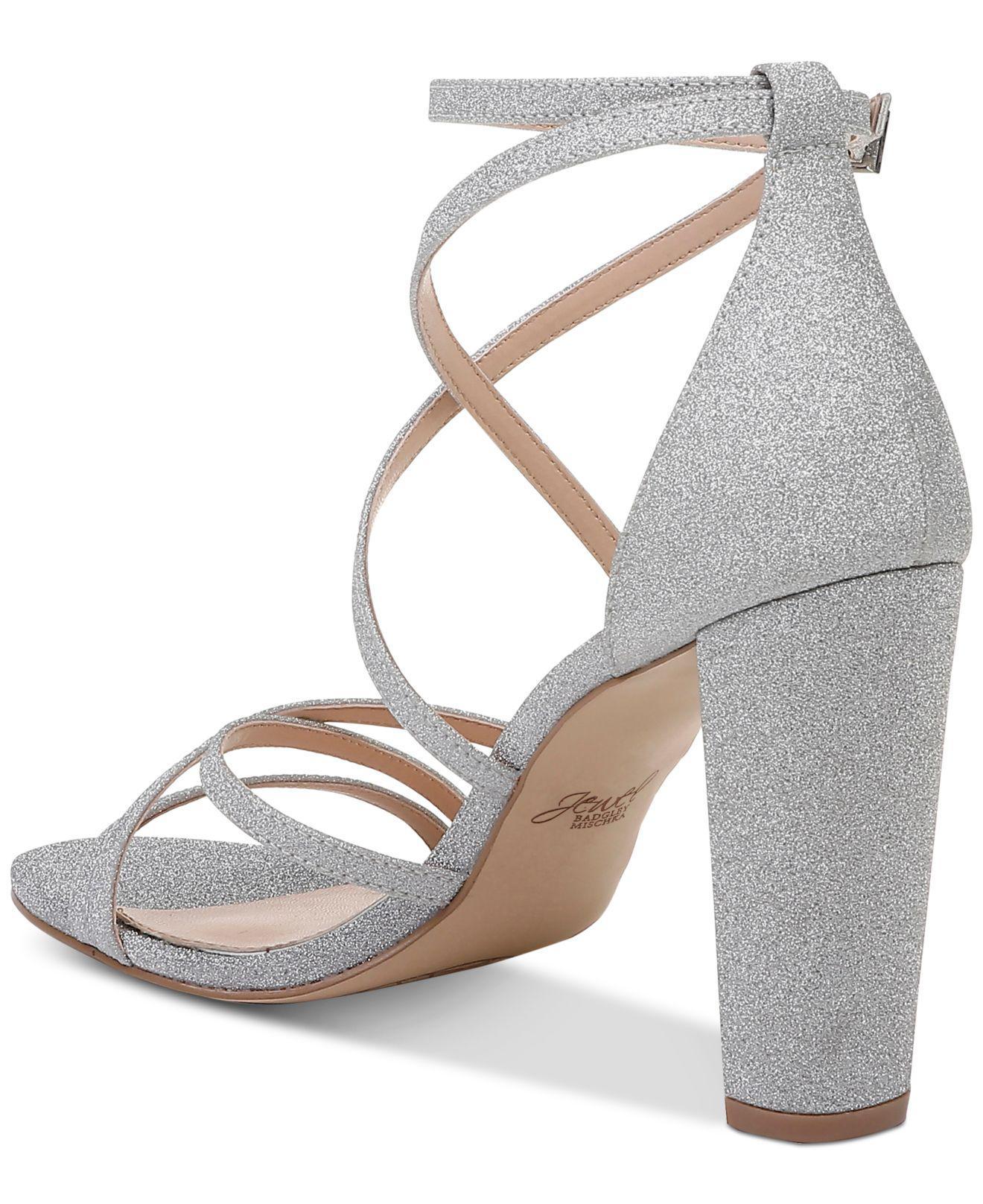 Badgley Mischka Diora Evening Sandals