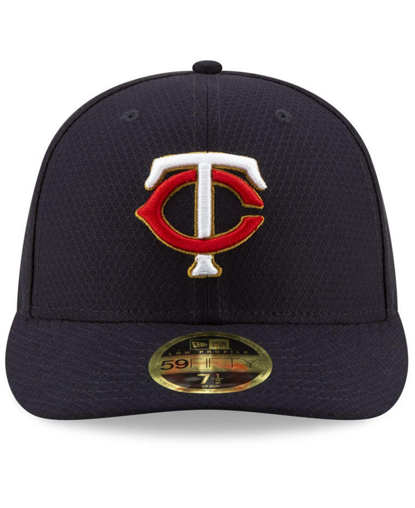 0b44da911 Lyst - KTZ Minnesota Twins Spring Training 59fifty-fitted Low Profile Cap  in Blue for Men