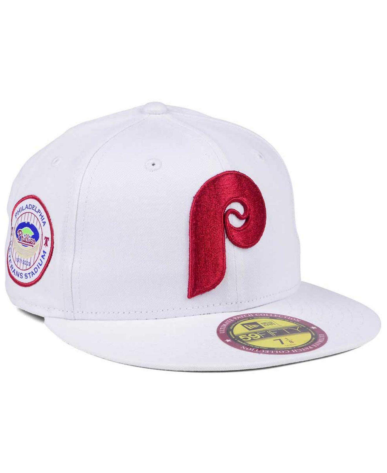 brand new 5cc99 76e28 KTZ - White The Ultimate Patch Collection Stadium 59fifty Cap for Men -  Lyst. View fullscreen