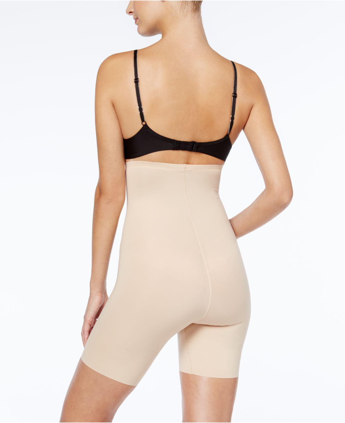 560c902c9d5 Spanx Thinstincts Firm Control High-waist Shaper Shorts 10006r in Natural -  Lyst