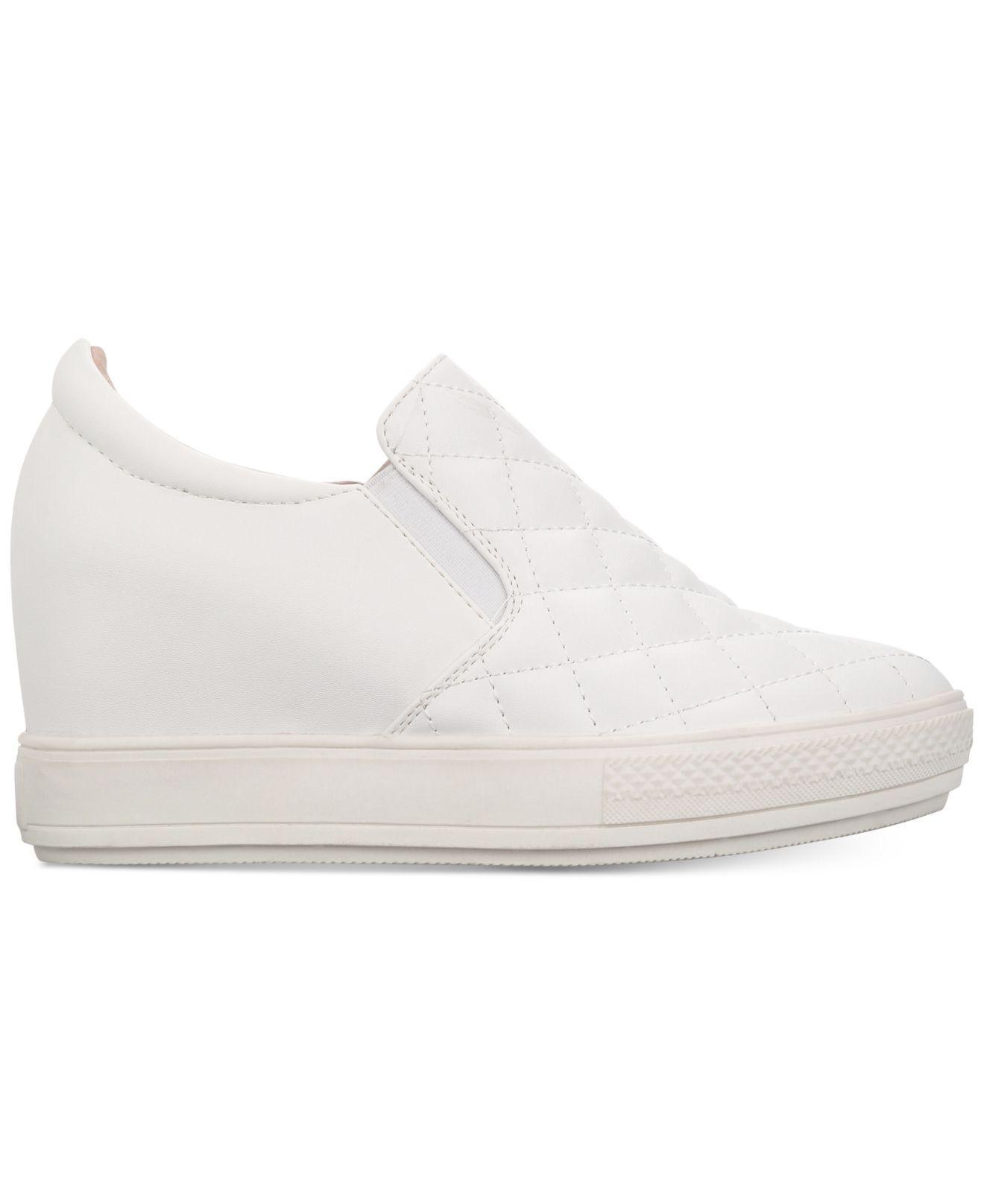 Wanted Slip On Wedge White Sneakers Bushkill XPZuik