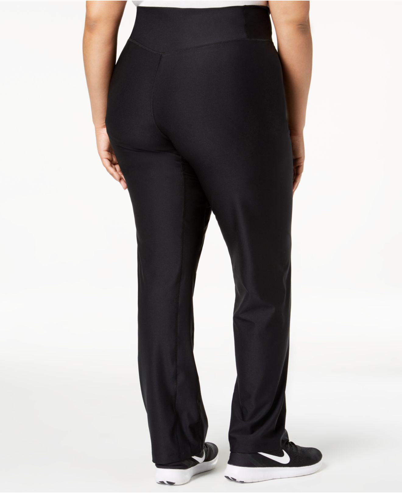 1aa49ce70e376 Lyst - Nike Plus Size Power Dri-fit Pants in Black