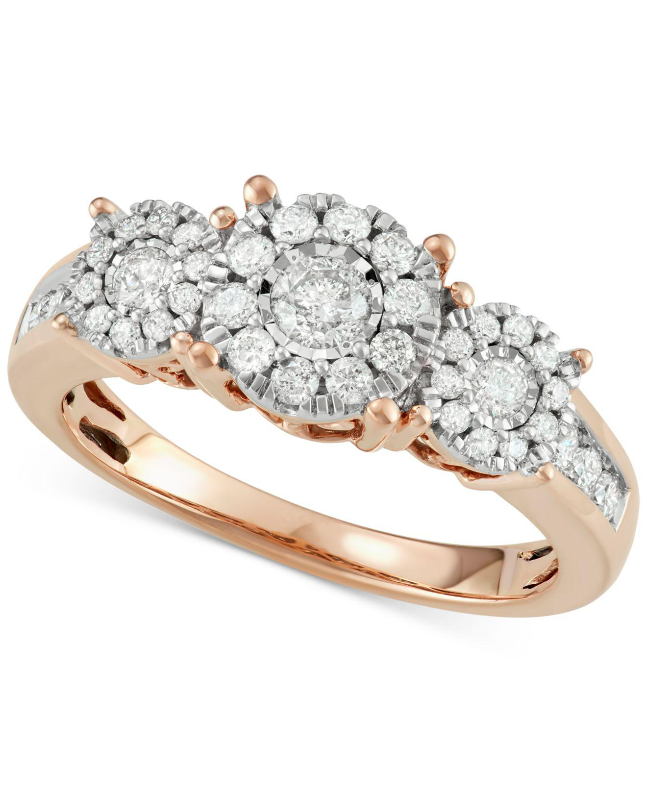 engagement beautiful gallery stone brides rings two mociun