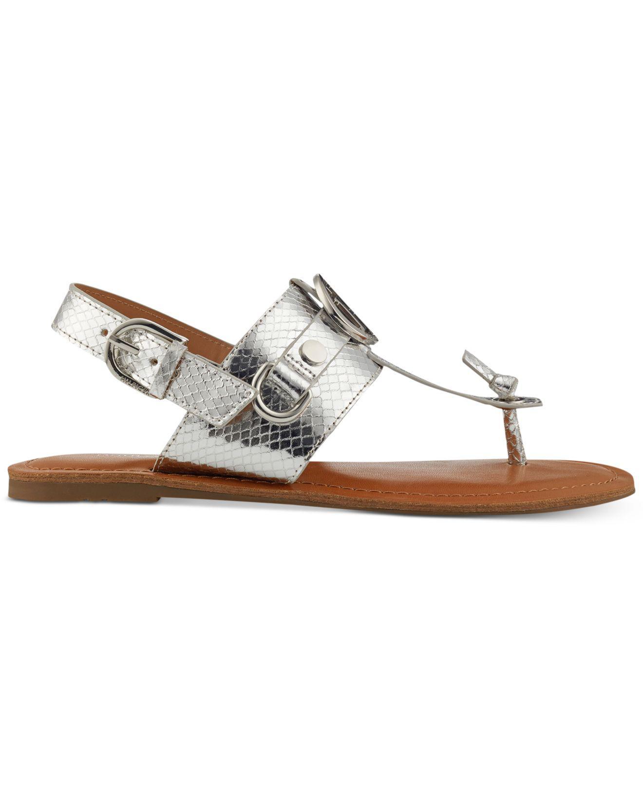 Tommy Jeans FLAT - Mules - silver LbBLj