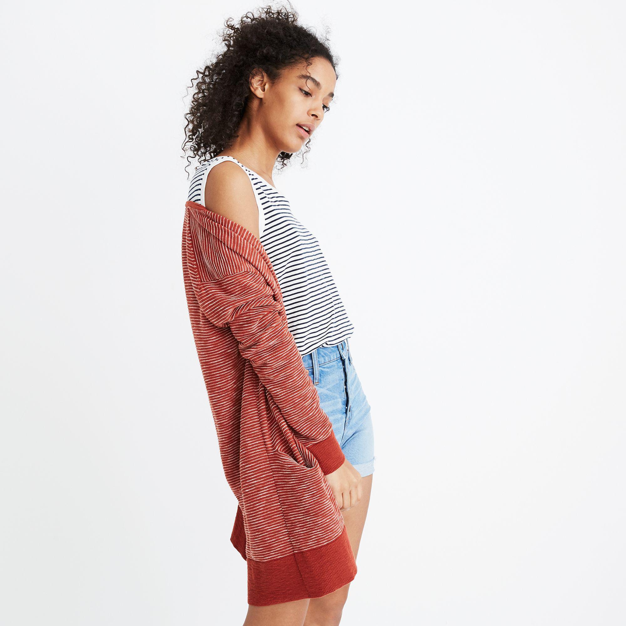 6e005ddfb3 Madewell Summer Ryder Cardigan Sweater - Lyst