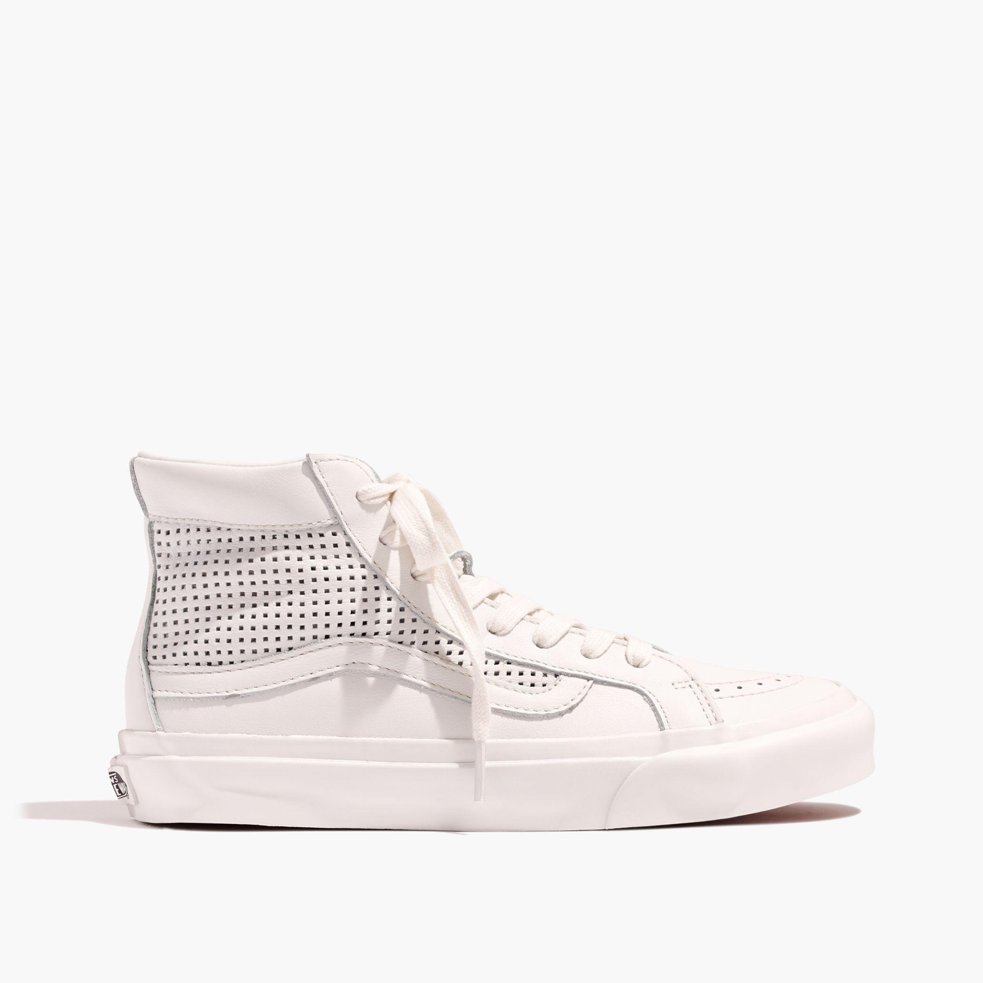Lyst - Madewell Vans® Unisex Sk8-hi Slim High-top Sneakers In ... 2d16db63c