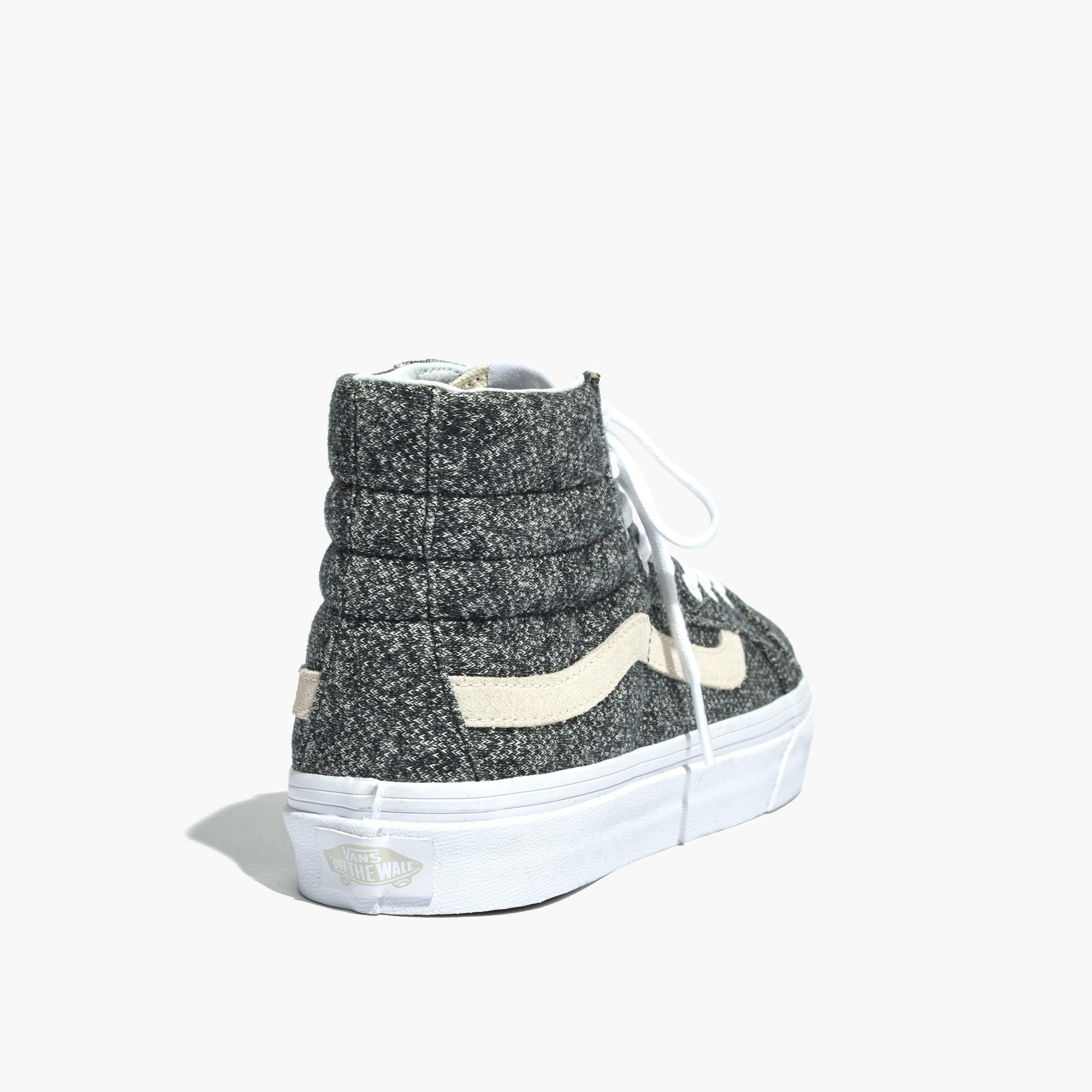 72c5f0245e97d4 Lyst - Madewell Vans® Unisex Sk8-hi High-top Sneakers In Marled ...
