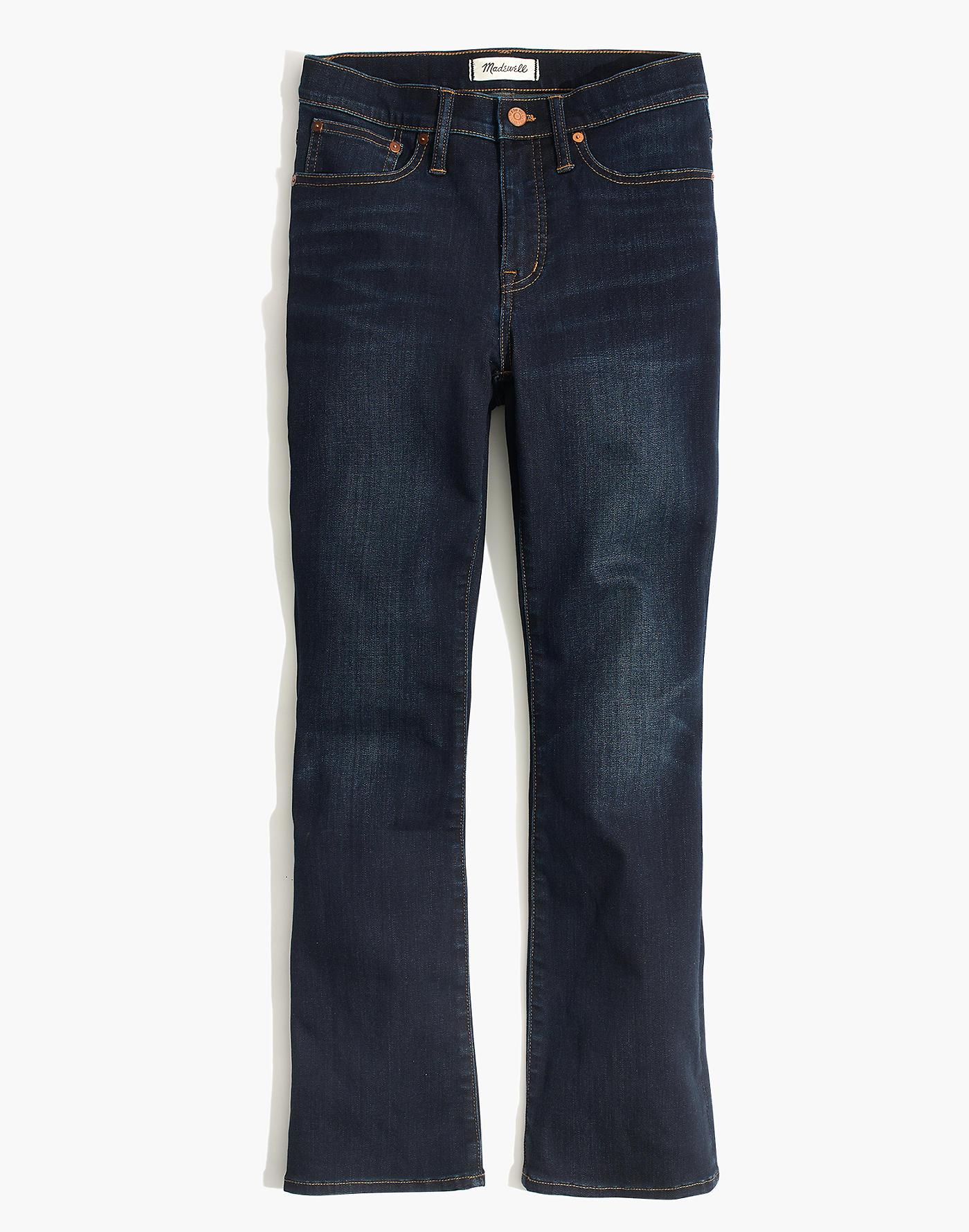 Madewell Denim Tall Cali Demi-boot Jeans In Larkspur Wash: ™ Edition in Blue