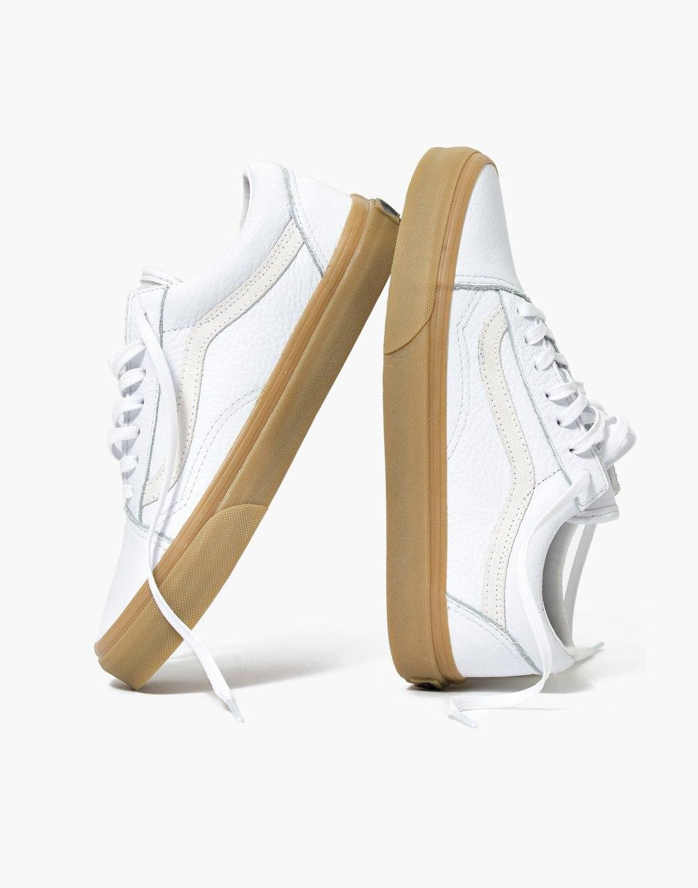 a1c6026bb3 Lyst - Madewell X Vans Unisex Old Skool Lace-up Sneakers In Tumbled ...